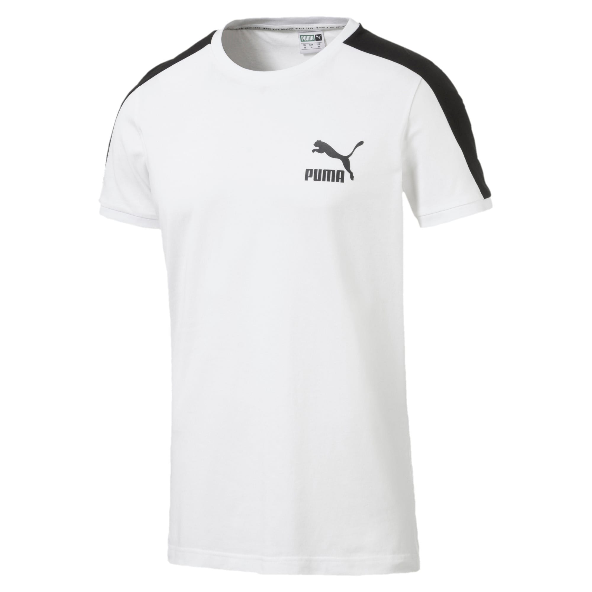 Thumbnail 4 van Iconisch T7 T-shirt voor mannen, Puma White, medium
