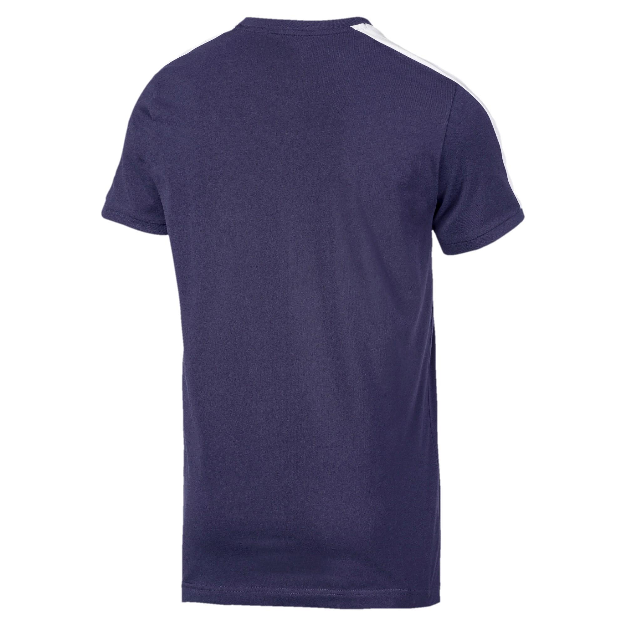 Thumbnail 5 van Iconisch T7 T-shirt voor mannen, Nachtblauw, medium