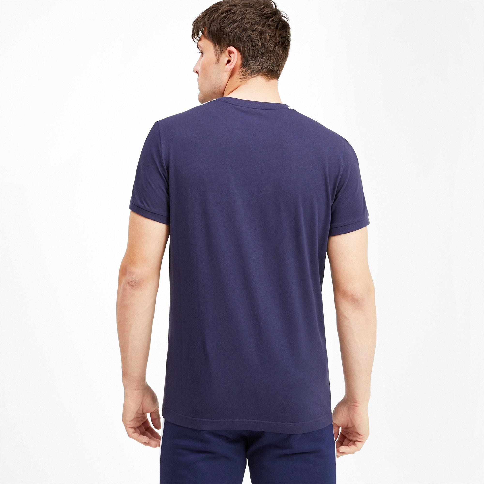 Thumbnail 2 van Iconisch T7 T-shirt voor mannen, Nachtblauw, medium