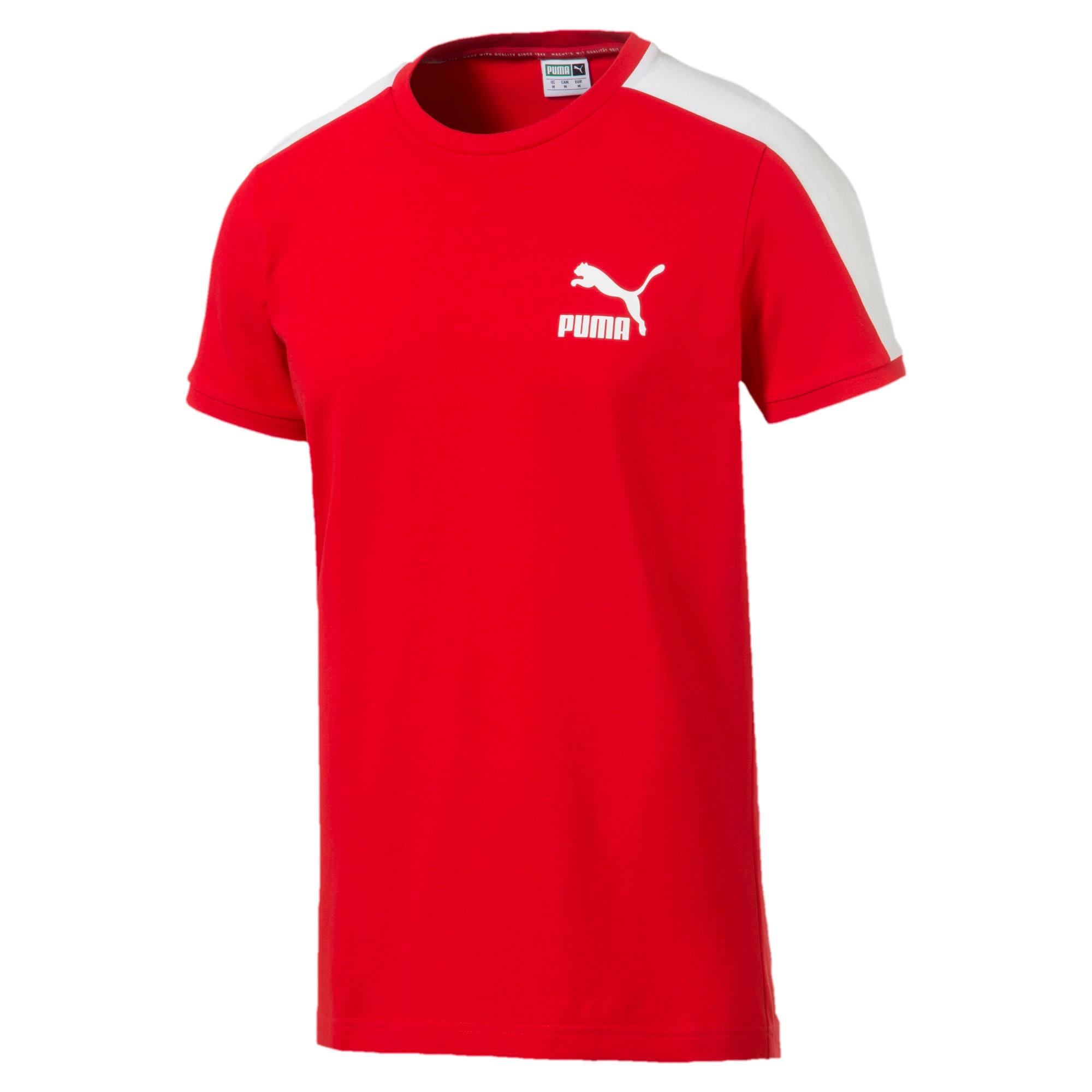 Thumbnail 4 of Iconic T7 Men's Tee, High Risk Red, medium