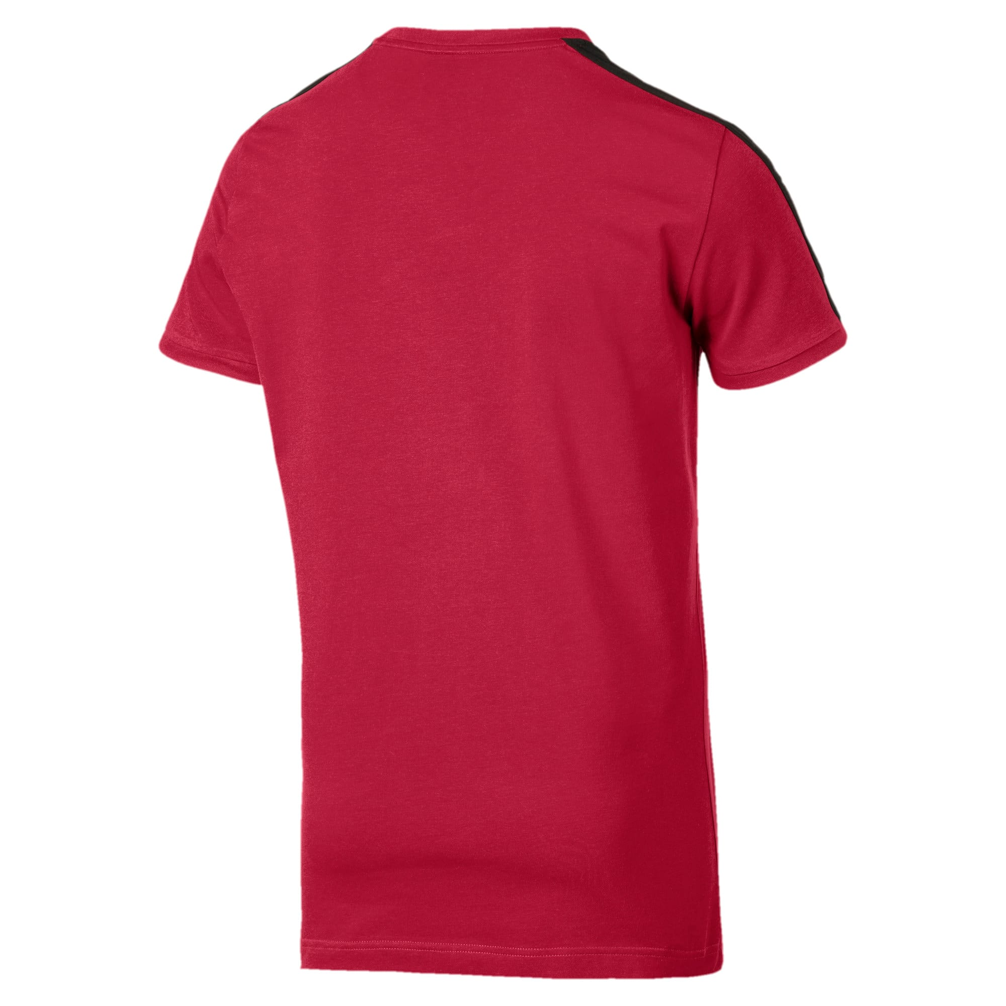 Iconic T7 Men's Tee, Rhubarb, large