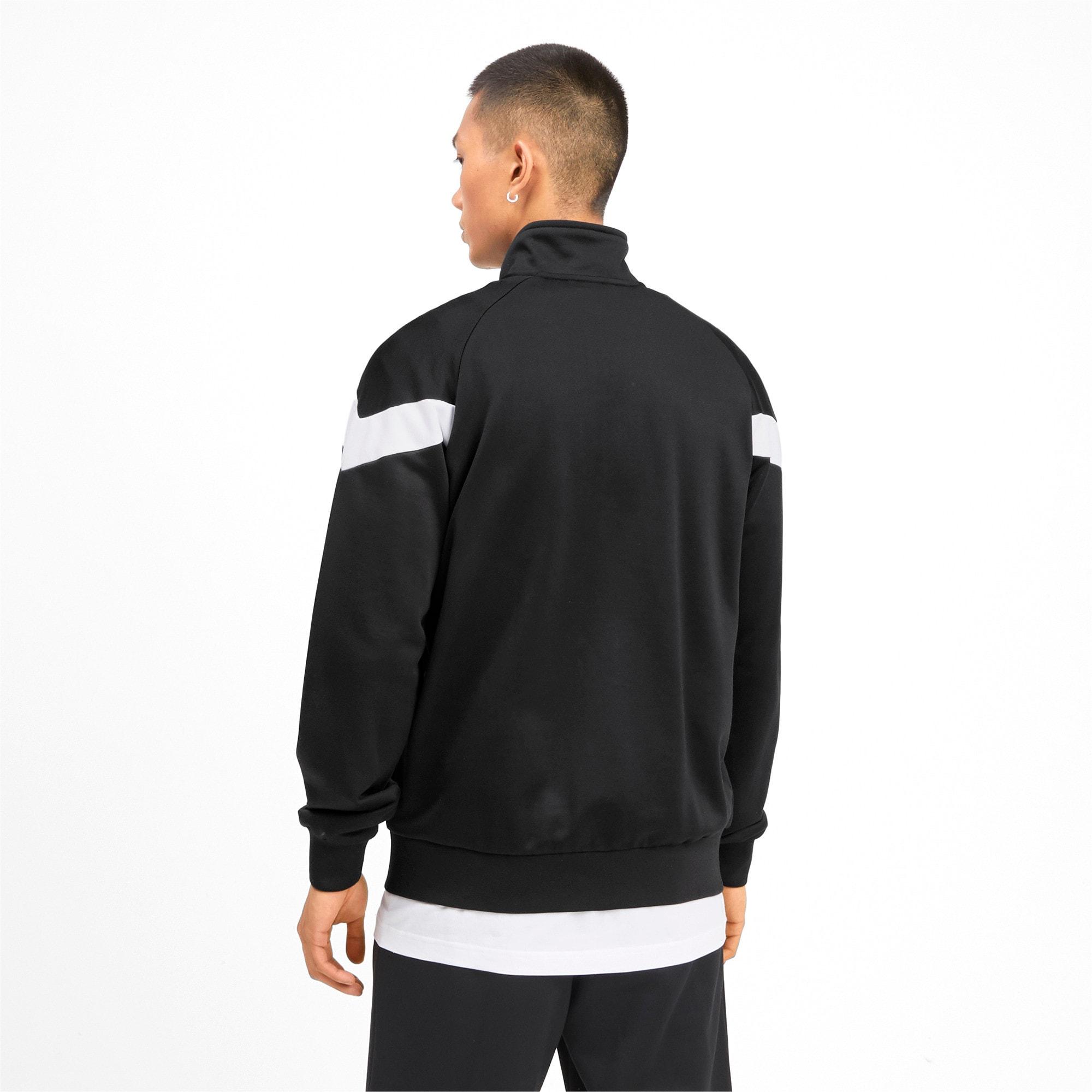 Thumbnail 3 of Iconic MCS Men's Track Jacket, Puma Black, medium