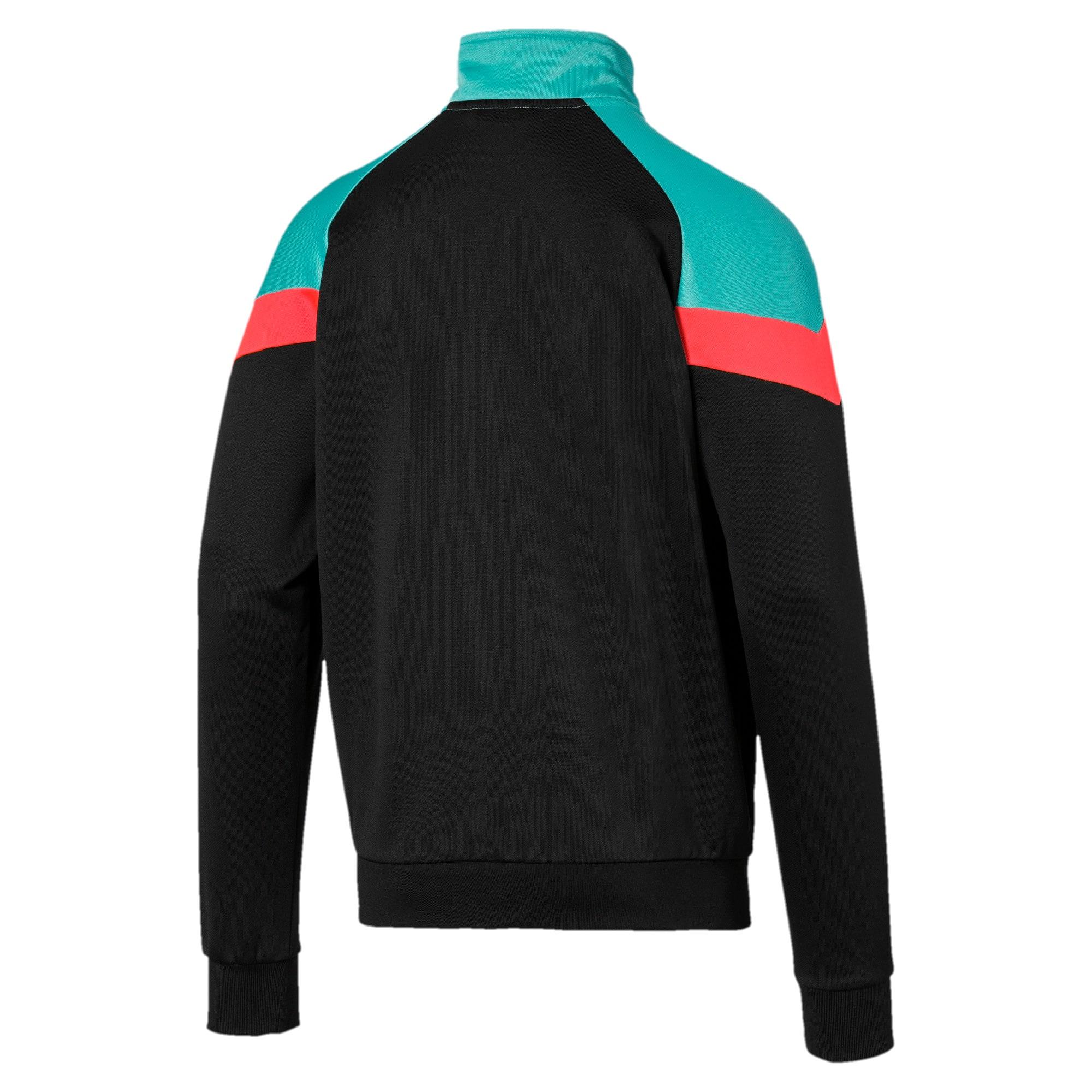 Thumbnail 5 of Iconic MCS Men's Track Jacket, Puma Black, medium