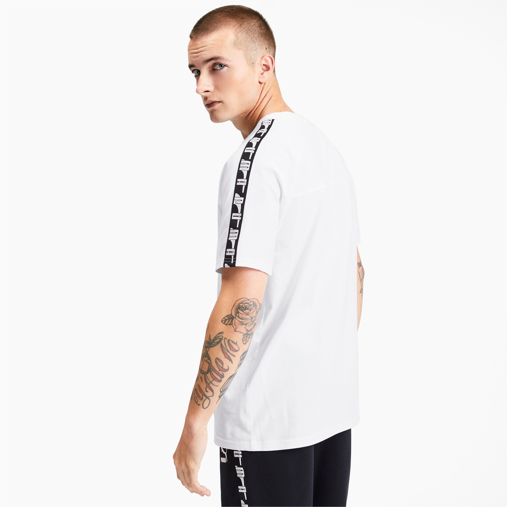 Miniaturka 2 Męska koszulka z krótkim rękawem PUMA XTG, Puma White, średnie