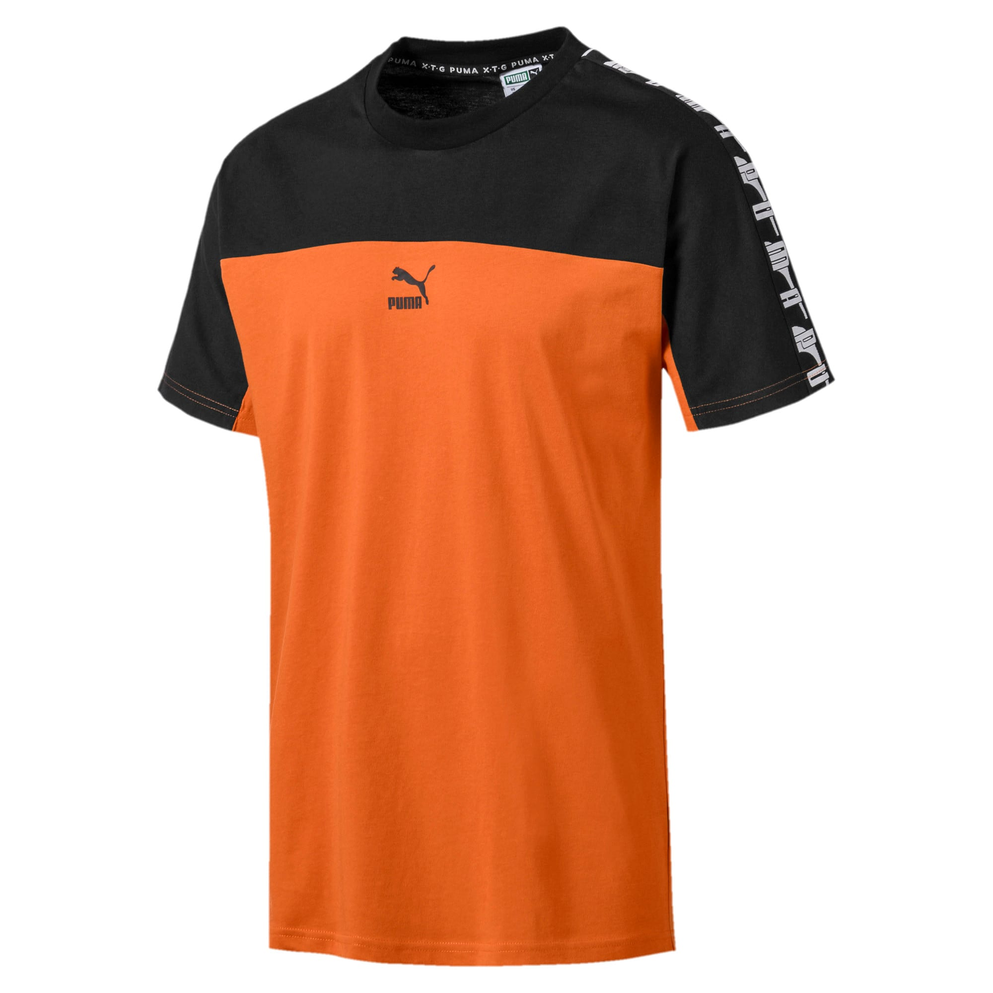 Miniaturka 4 Męska koszulka z krótkim rękawem PUMA XTG, Kolor Jaffa Orange, średnie