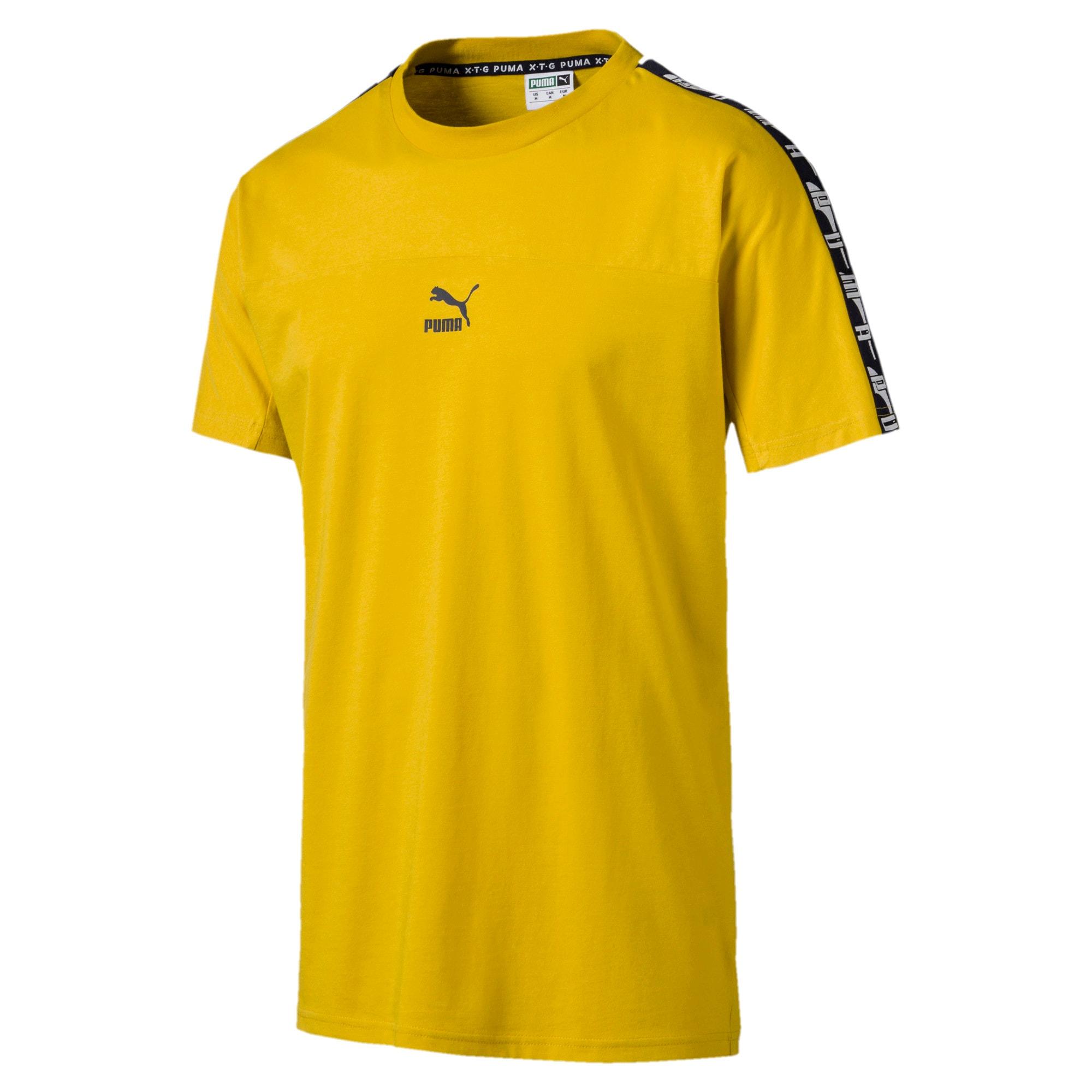 Miniaturka 4 Męska koszulka z krótkim rękawem PUMA XTG, Sulphur, średnie
