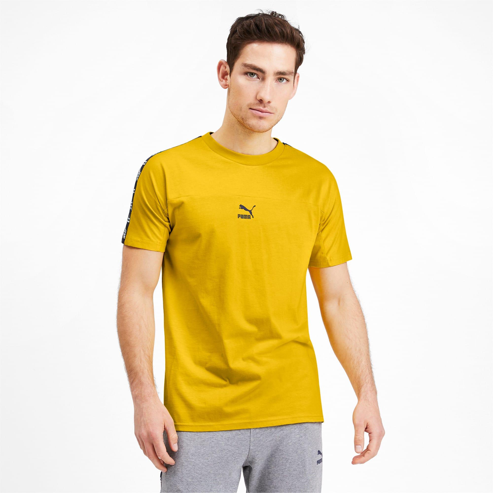 Miniaturka 1 Męska koszulka z krótkim rękawem PUMA XTG, Sulphur, średnie