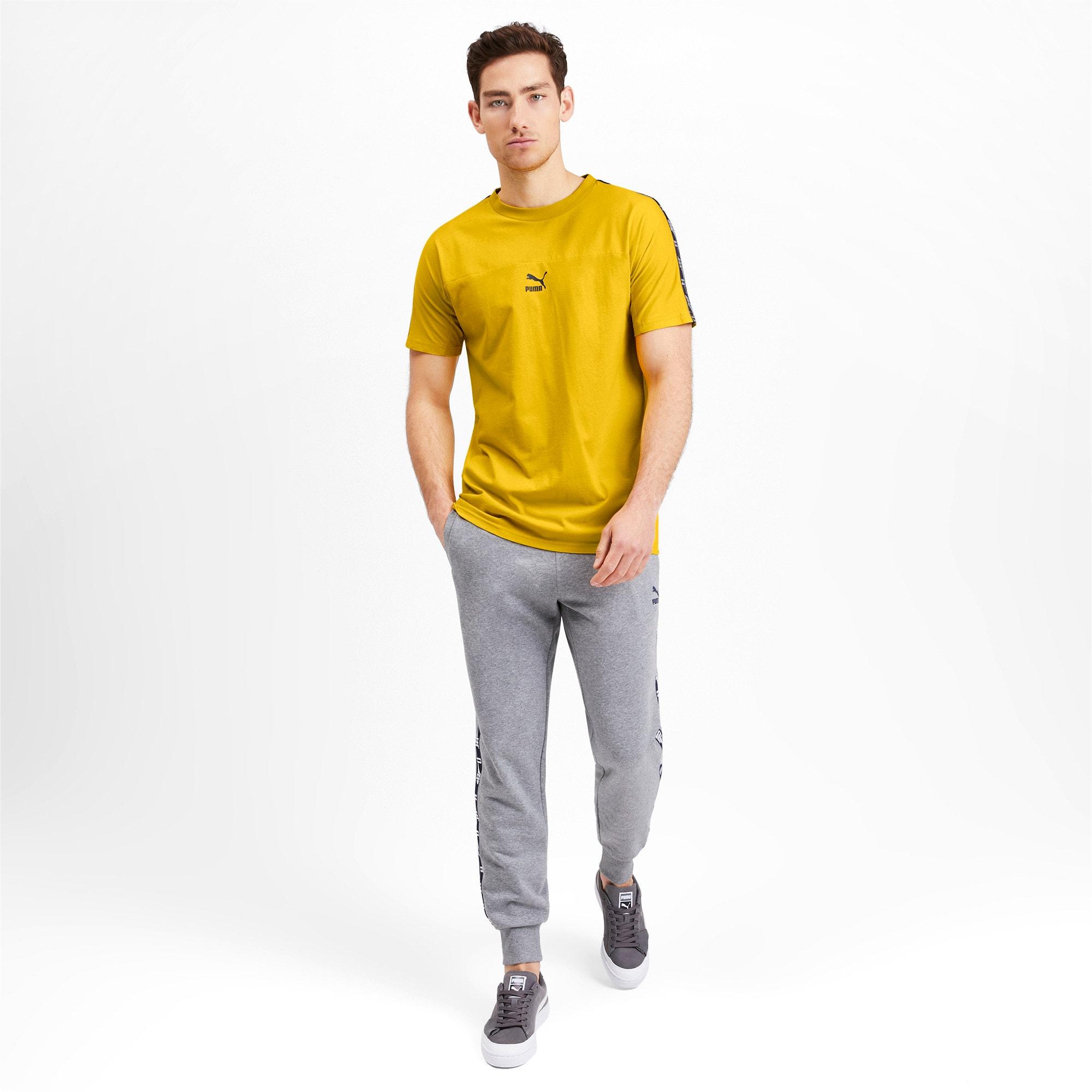 Miniaturka 3 Męska koszulka z krótkim rękawem PUMA XTG, Sulphur, średnie