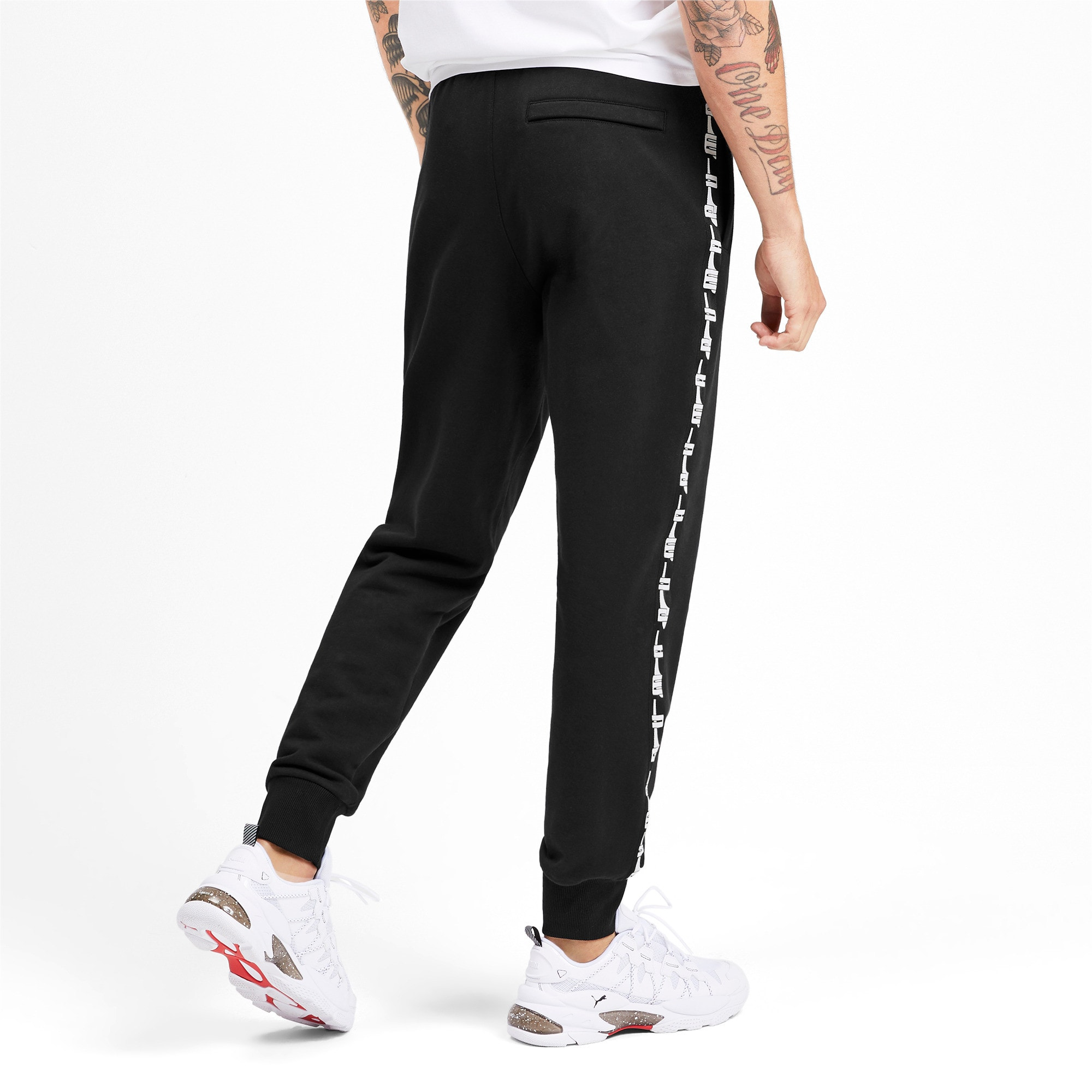 Thumbnail 3 of Pantalon de sweat tricoté PUMA XTG pour homme, Puma Black, medium