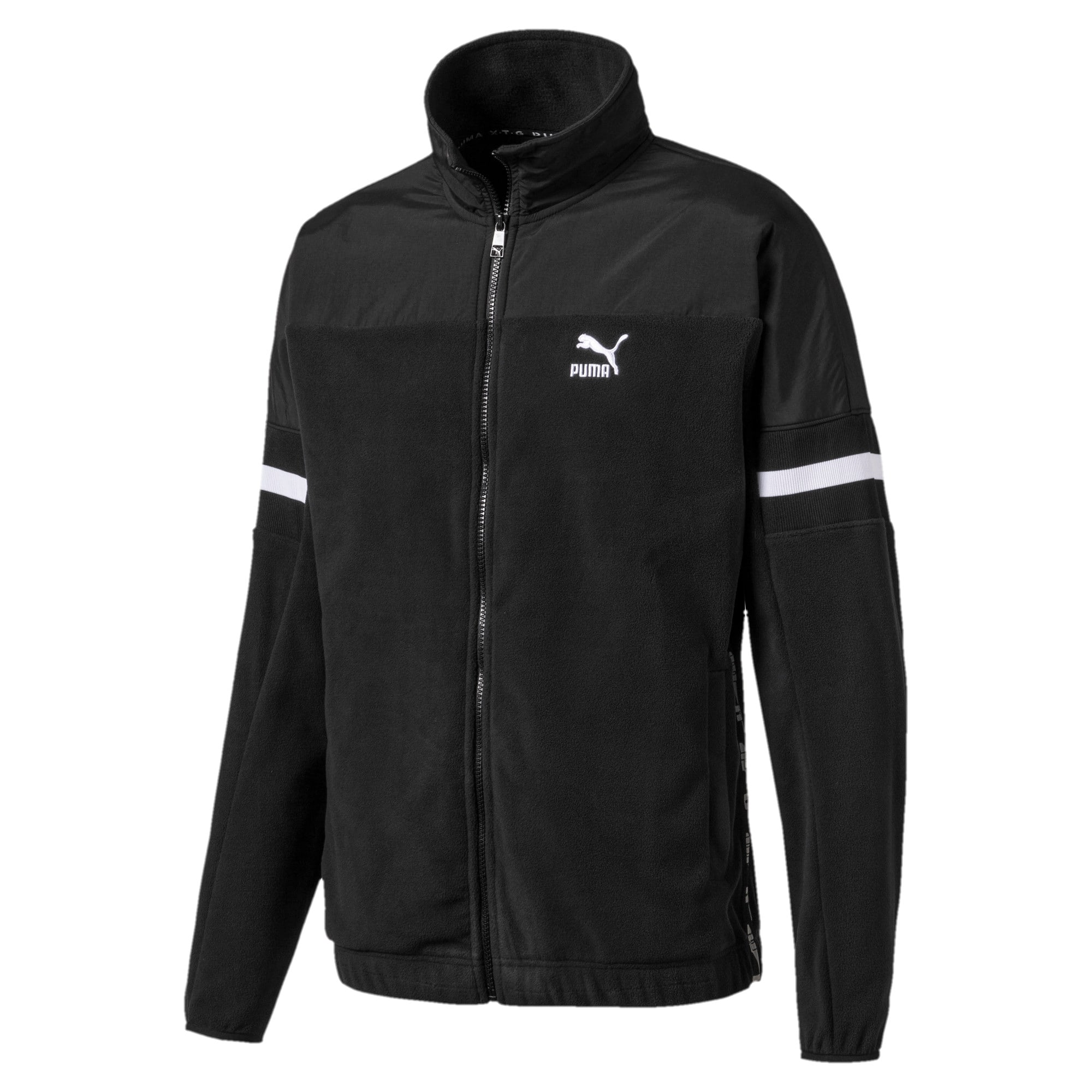 Thumbnail 1 of PUMA XTG Woven Men's Track Jacket, Puma Black, medium