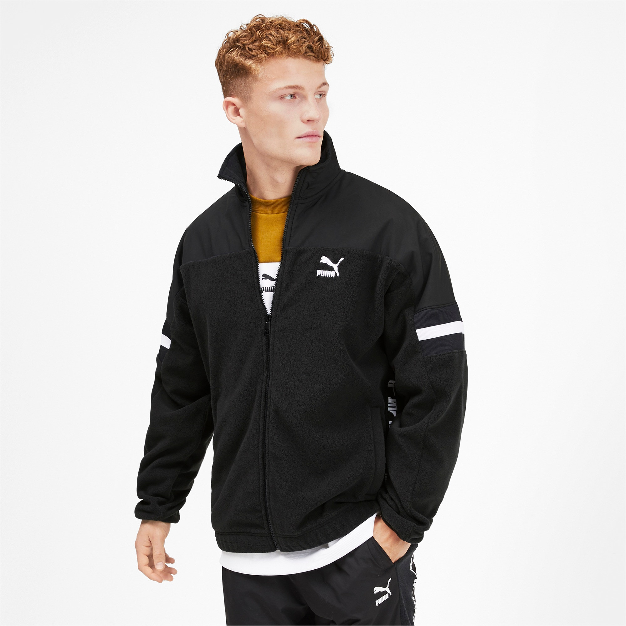 Thumbnail 2 of PUMA XTG Woven Men's Track Jacket, Puma Black, medium