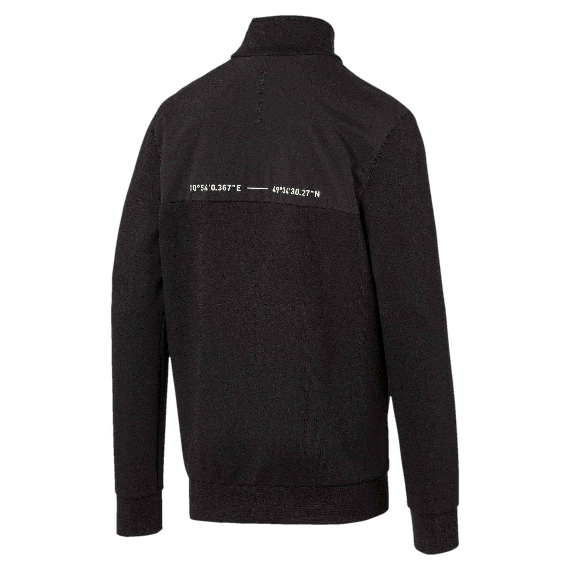 Thumbnail 5 of Epoch Hybrid Savannah Half Zip Men's Pullover, Puma Black, medium
