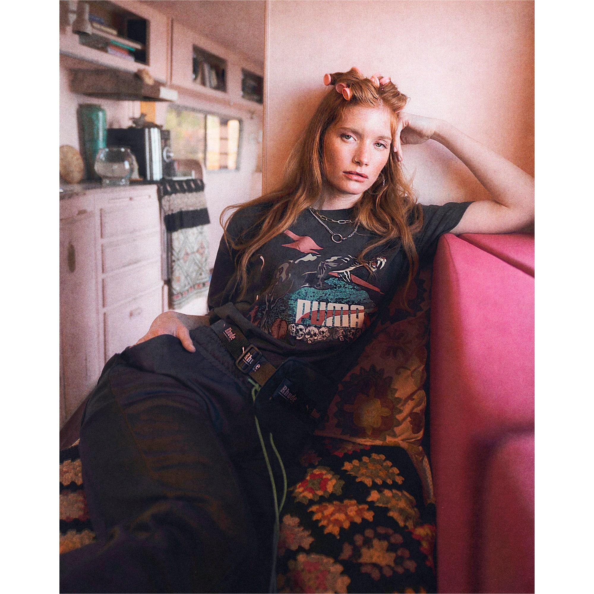 Thumbnail 7 of PUMA x RHUDE Tシャツ, Puma Black, medium-JPN