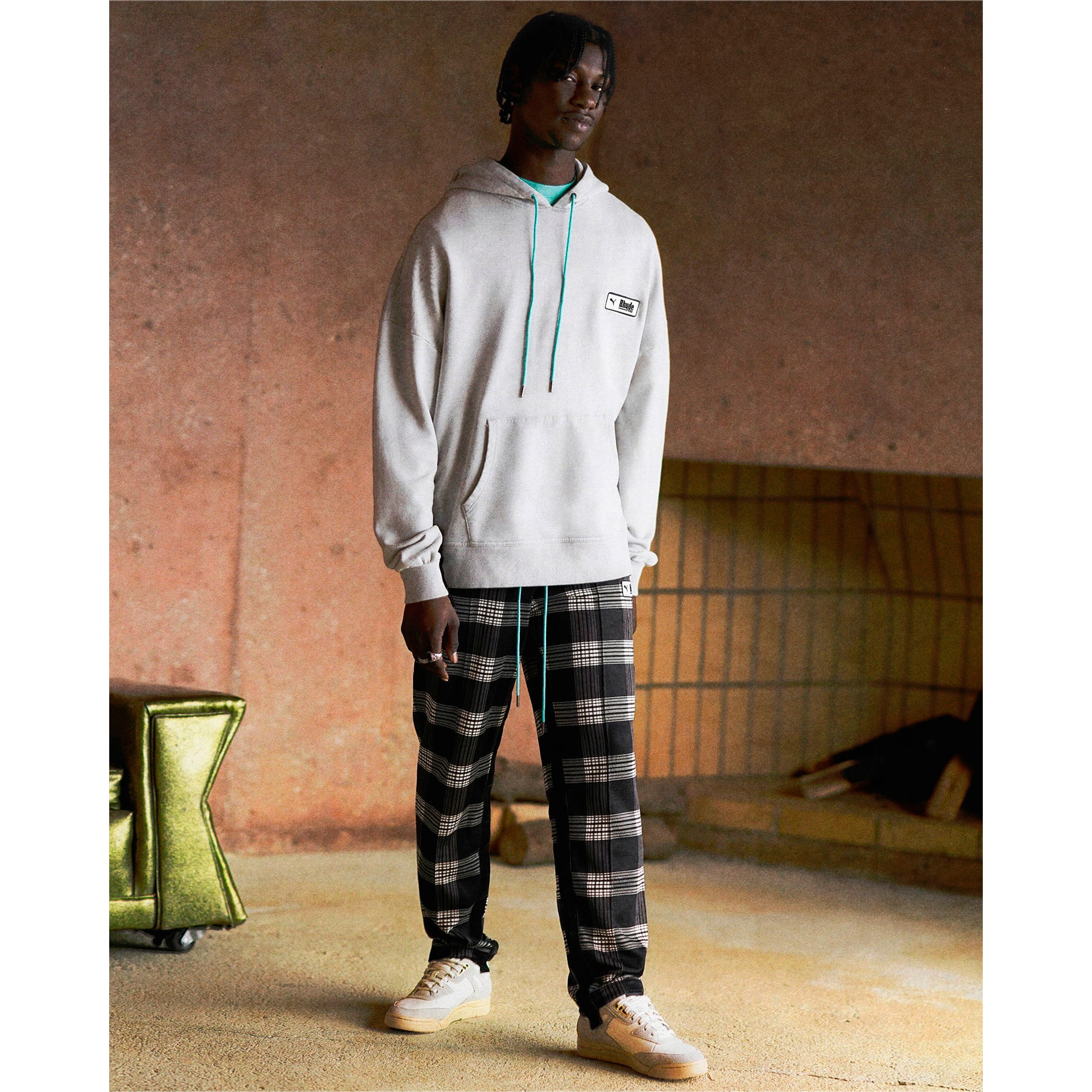 Thumbnail 3 of PUMA x RHUDE trainingsbroek met printmotief voor heren, Puma White AOP, medium