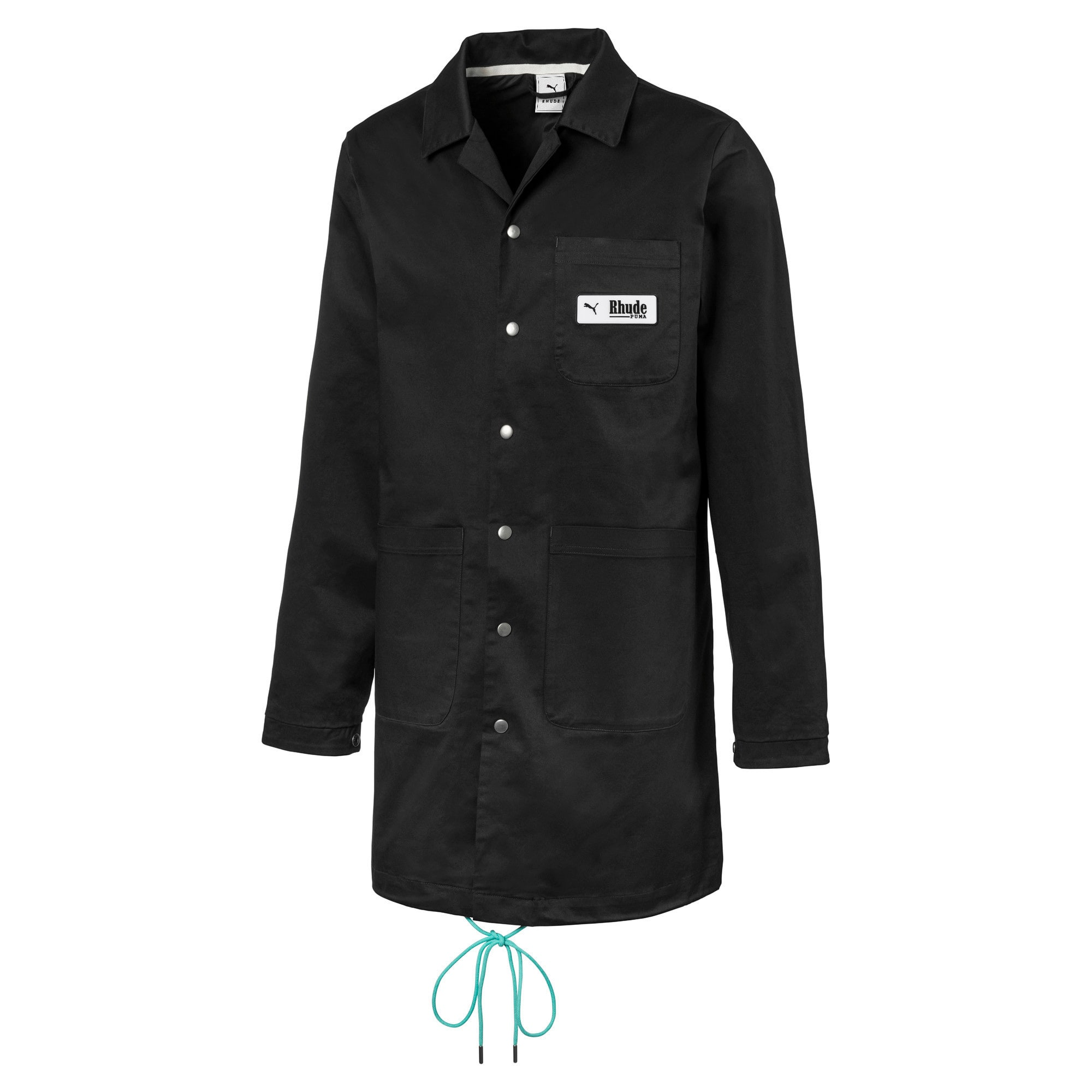 Thumbnail 2 of PUMA x RHUDE Men's Coat, Puma Black, medium