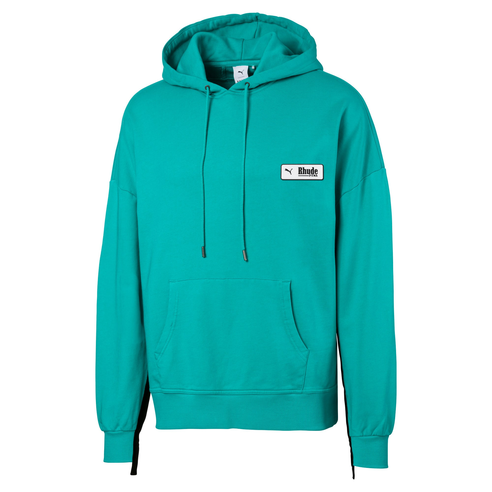 Thumbnail 2 of PUMA x RHUDE Men's Hoodie, Blue Turquoise, medium