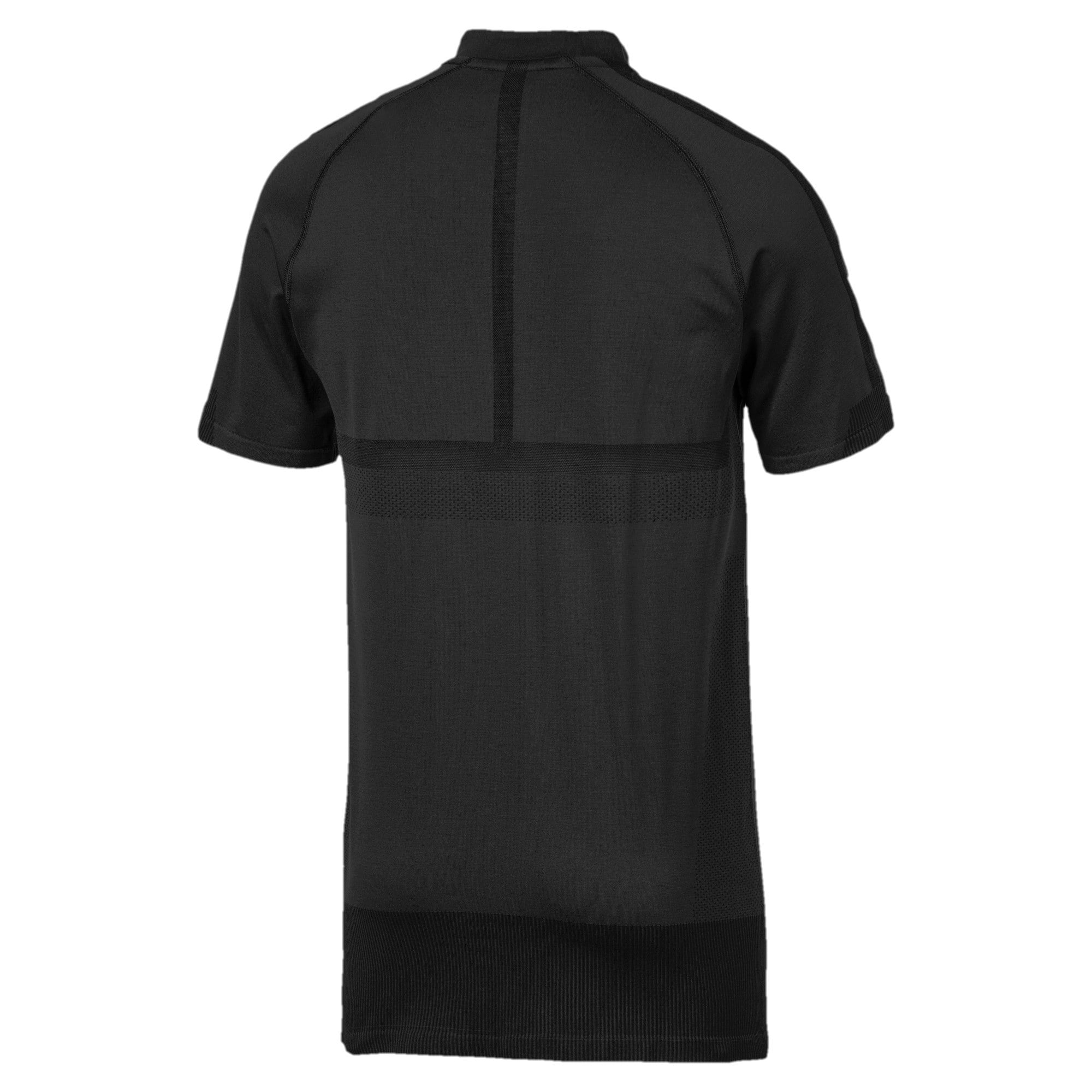 Thumbnail 6 of Mercedes AMG Petronas Men's Polo Shirt, Puma Black, medium