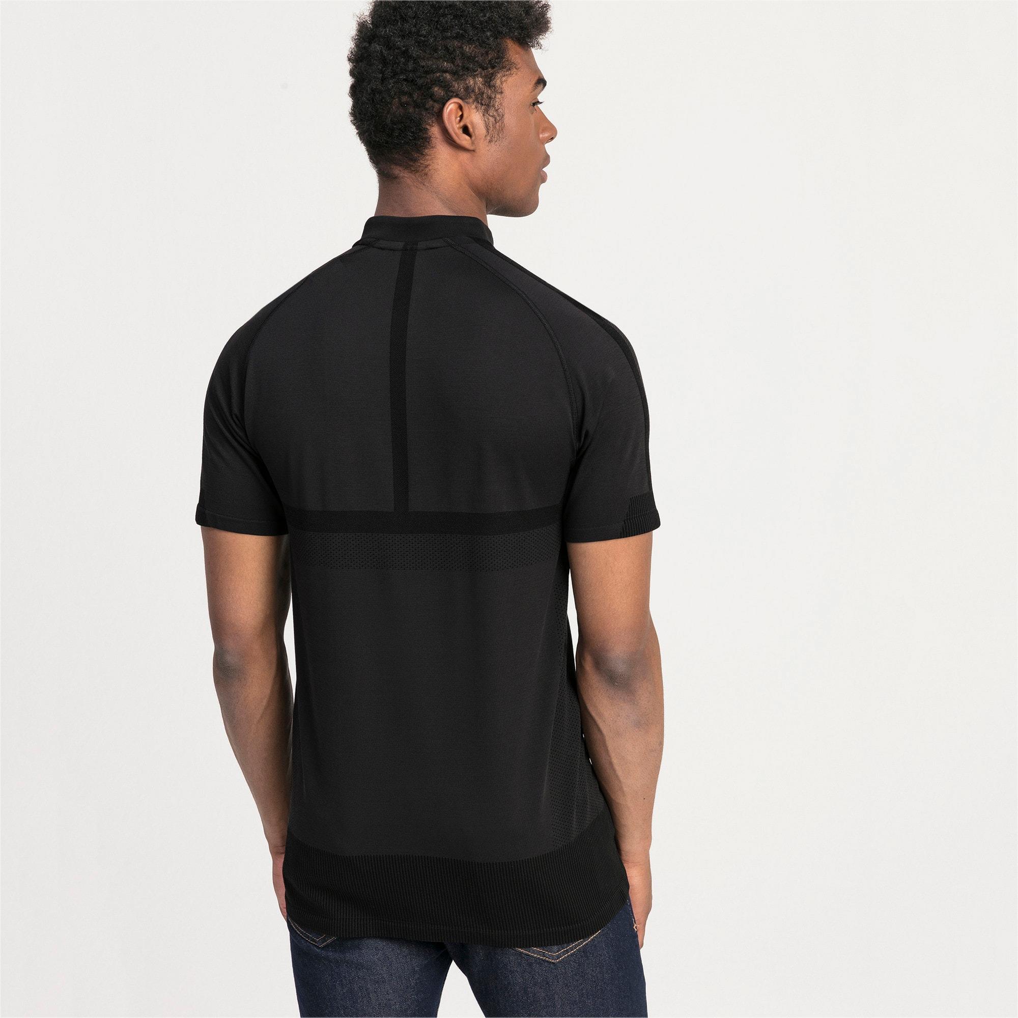 Thumbnail 2 of Mercedes AMG Petronas Men's Polo Shirt, Puma Black, medium