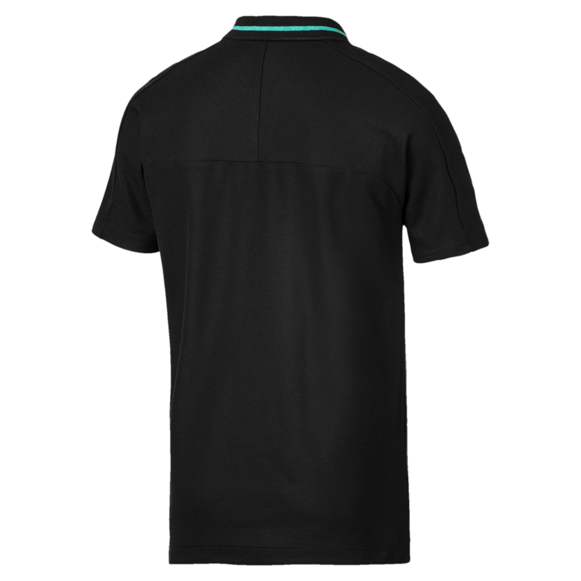 Thumbnail 6 of Mercedes AMG Petronas Men's Polo Shirt, Puma Black, medium