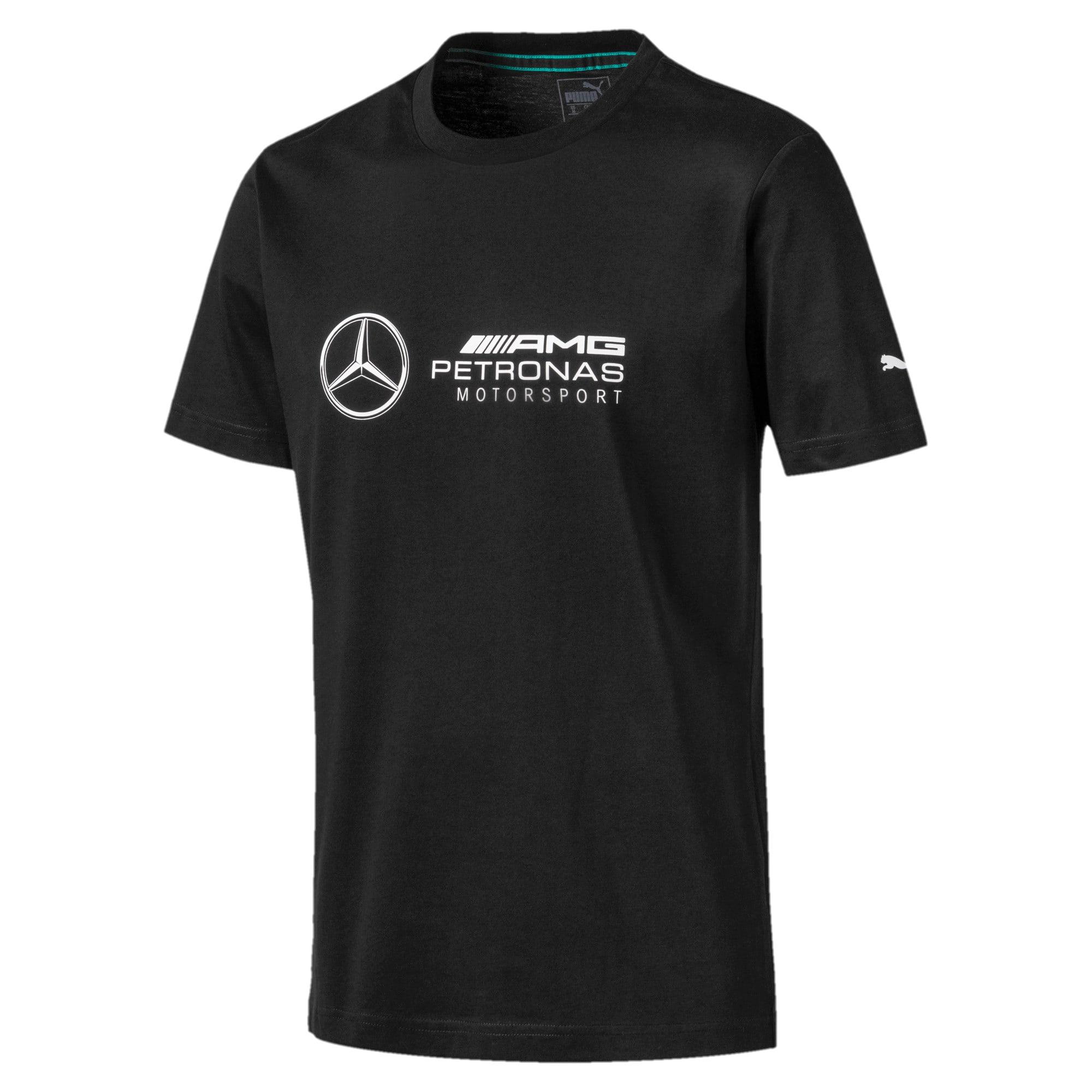 Thumbnail 4 of Mercedes AMG Petronas T-shirt met korte mouwen voor heren, Puma Black, medium
