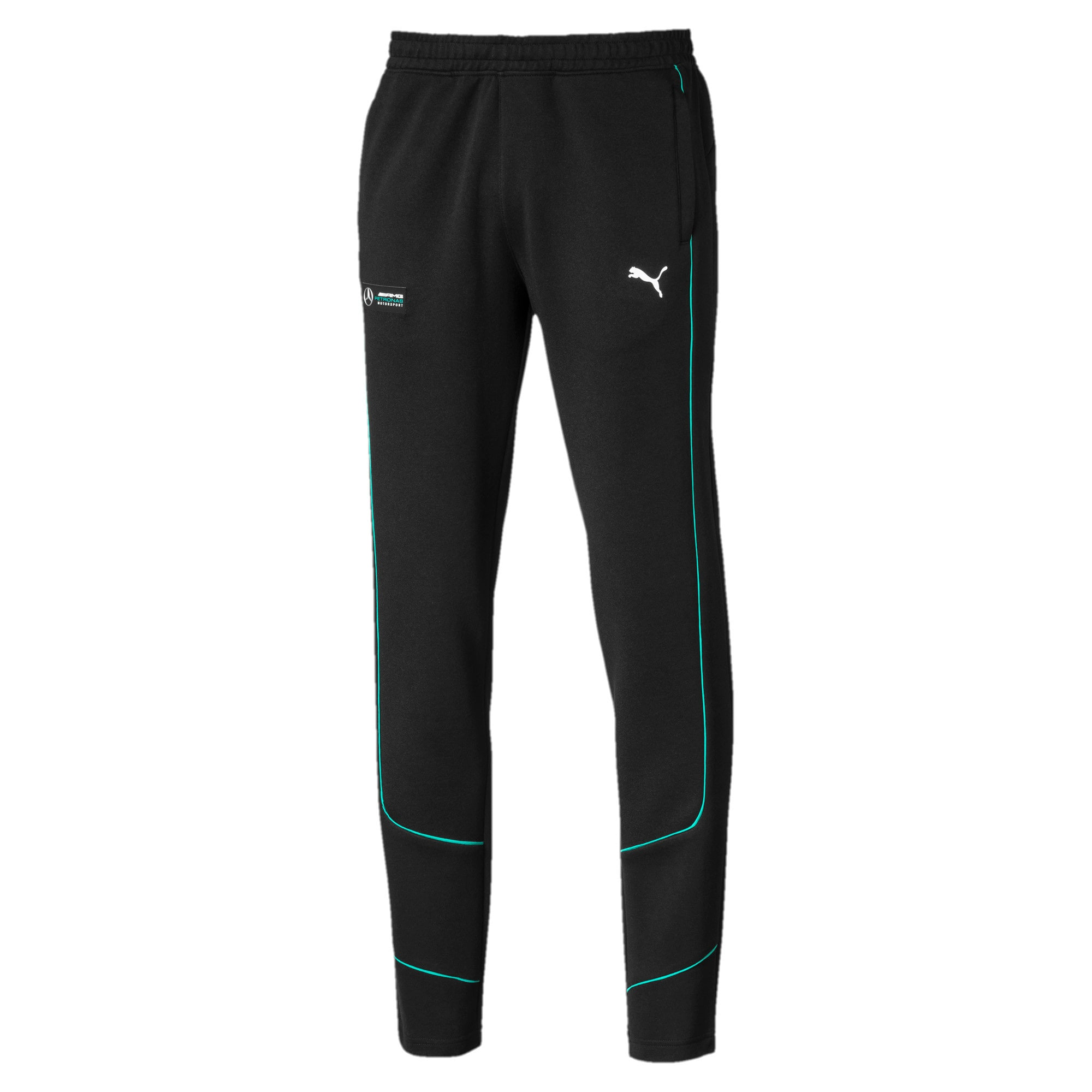 Thumbnail 4 of Mercedes AMG Petronas sweatpants voor heren, Puma Black, medium