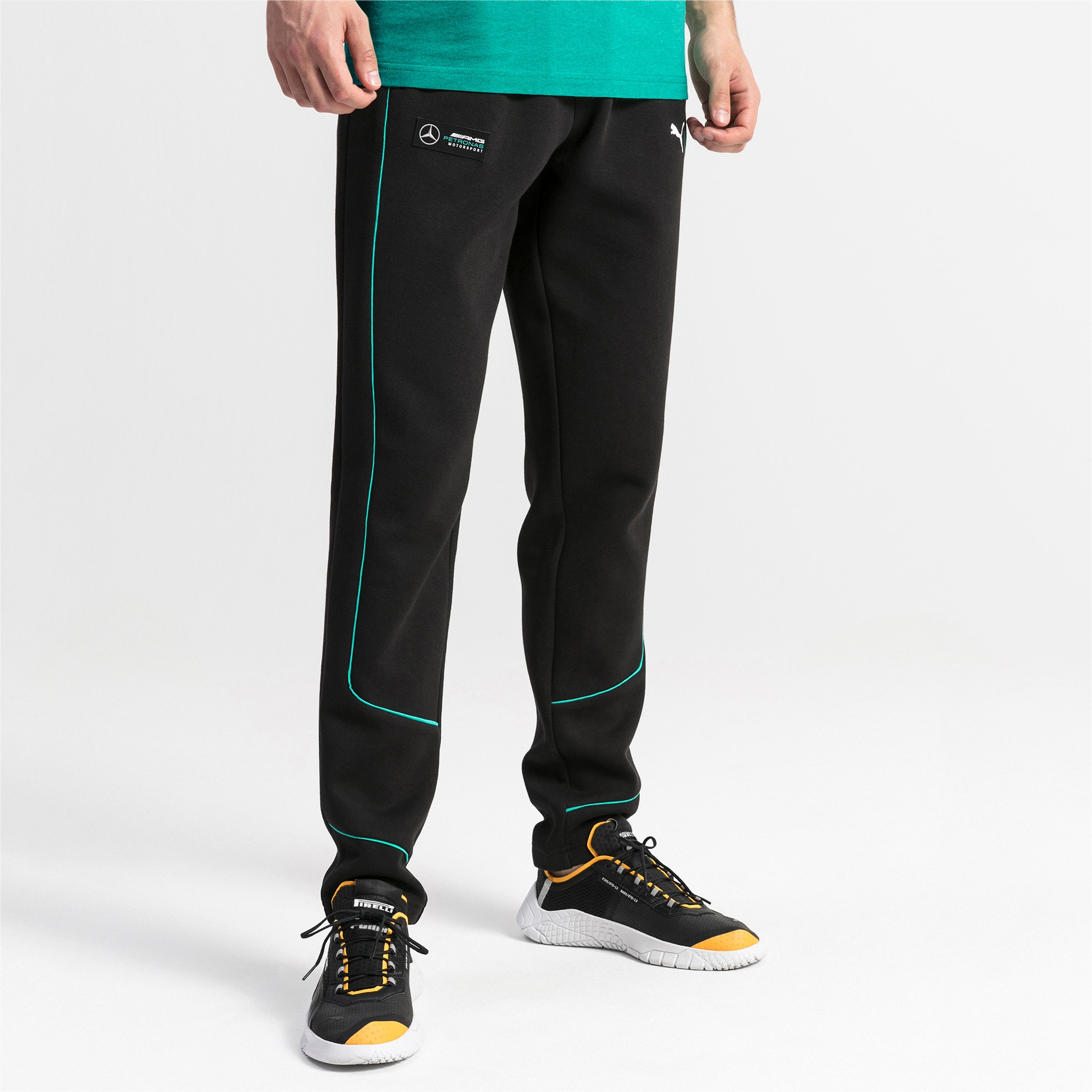 Thumbnail 1 of Mercedes AMG Petronas sweatpants voor heren, Puma Black, medium