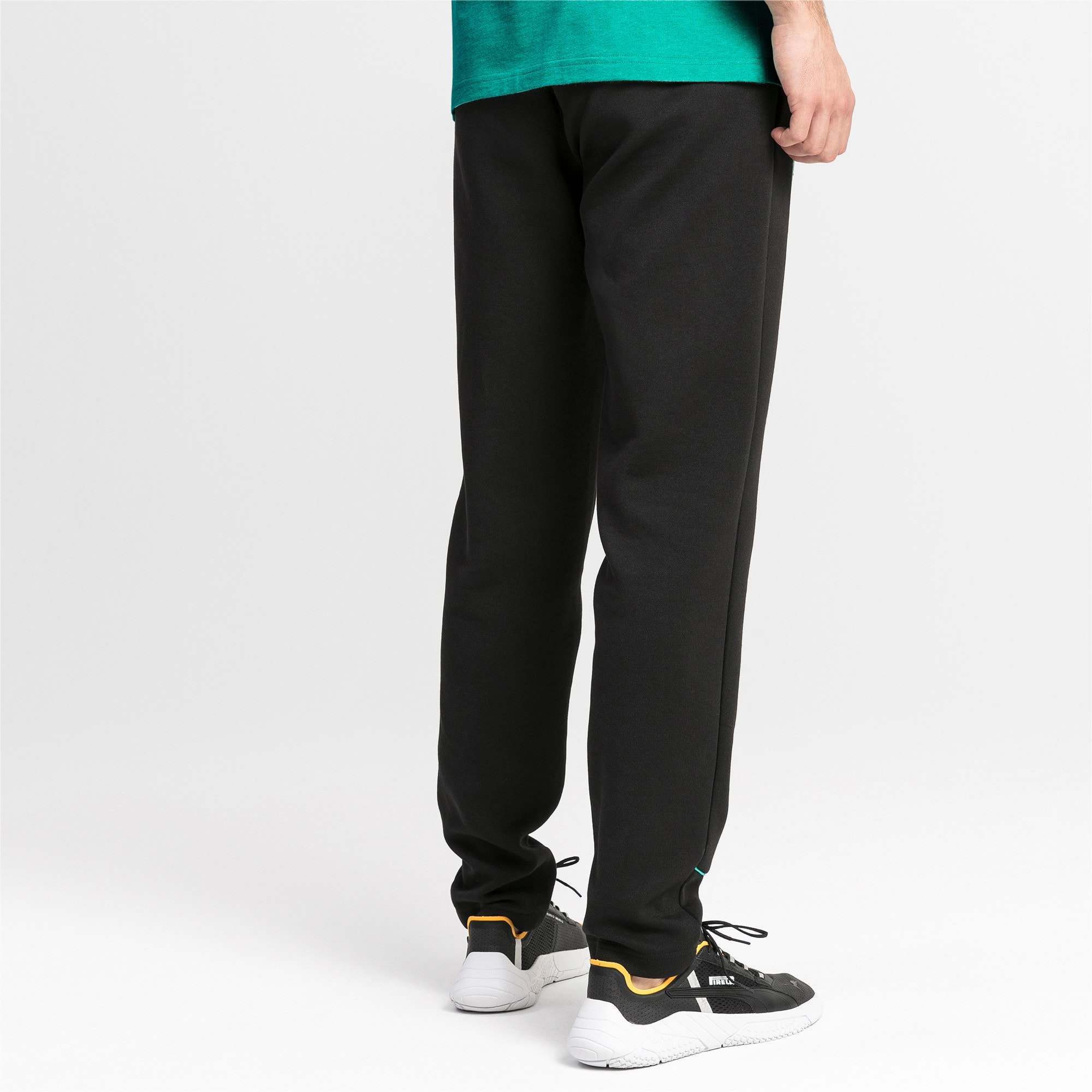 Thumbnail 2 of Mercedes AMG Petronas sweatpants voor heren, Puma Black, medium