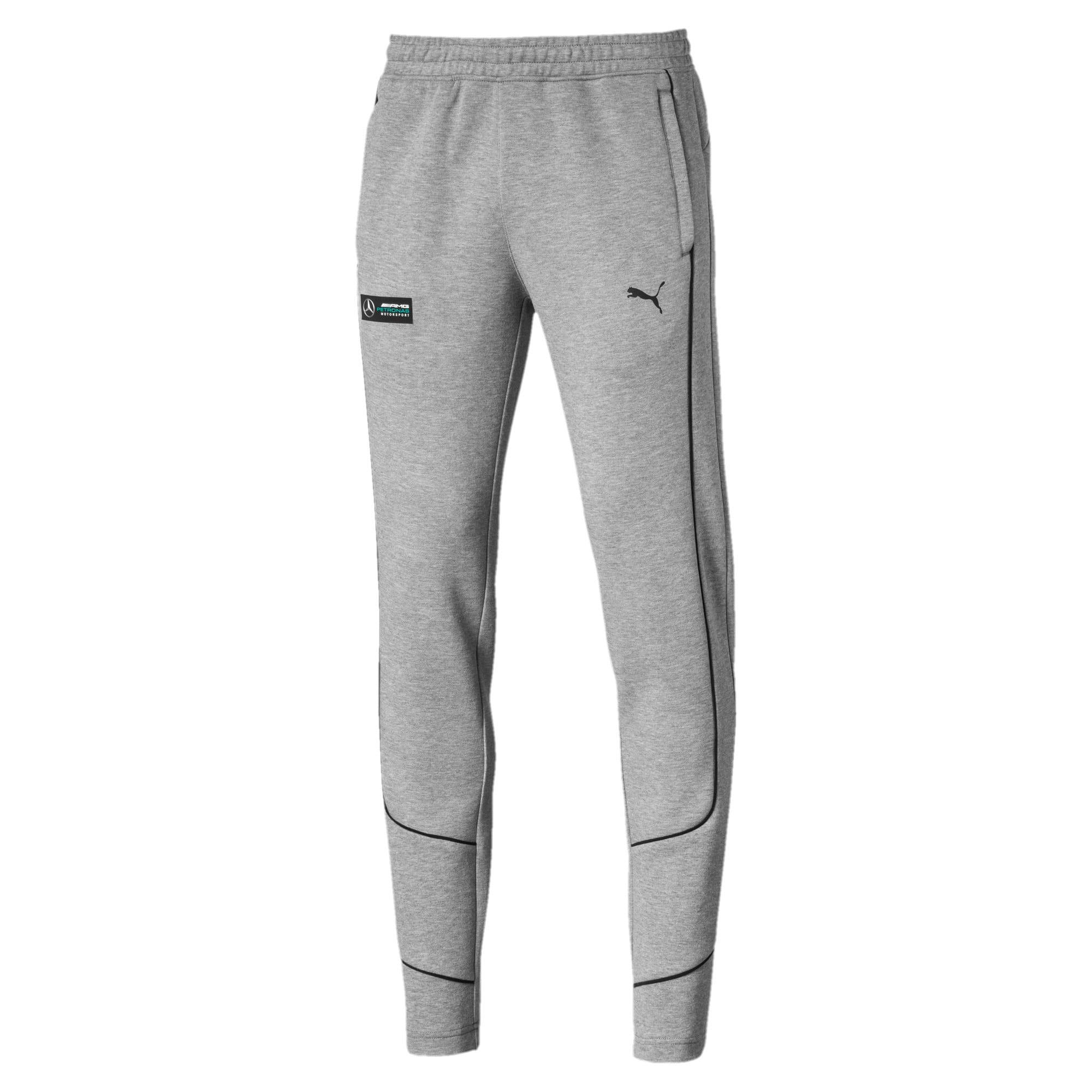Thumbnail 4 of Mercedes AMG Petronas Men's Sweatpants, Medium Gray Heather, medium