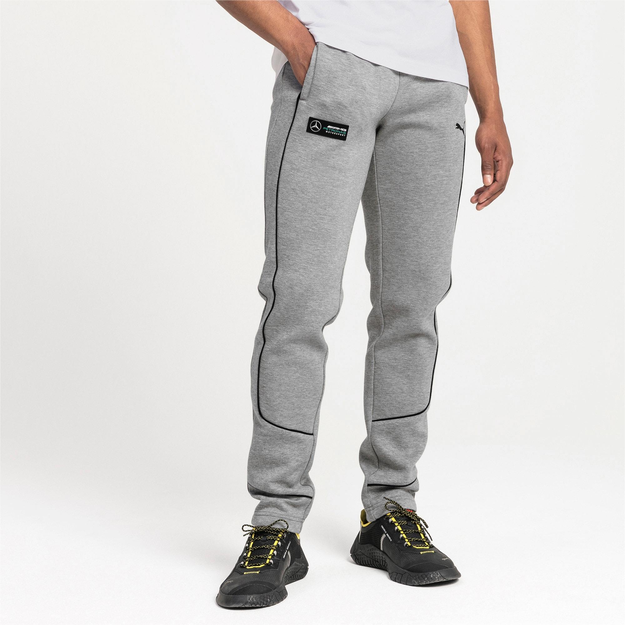 Thumbnail 1 of Mercedes AMG Petronas Men's Sweatpants, Medium Gray Heather, medium