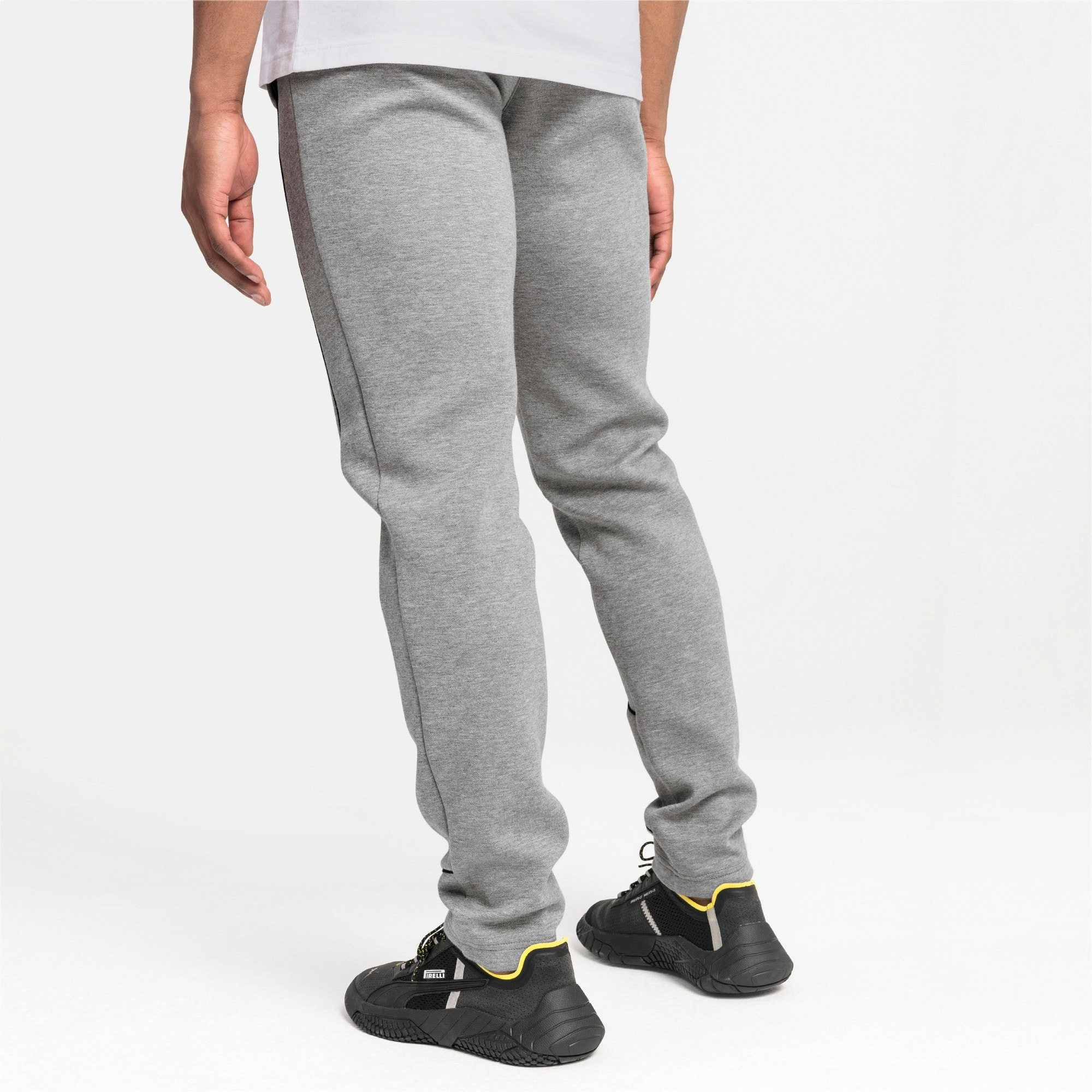 Thumbnail 2 of Mercedes AMG Petronas Men's Sweatpants, Medium Gray Heather, medium