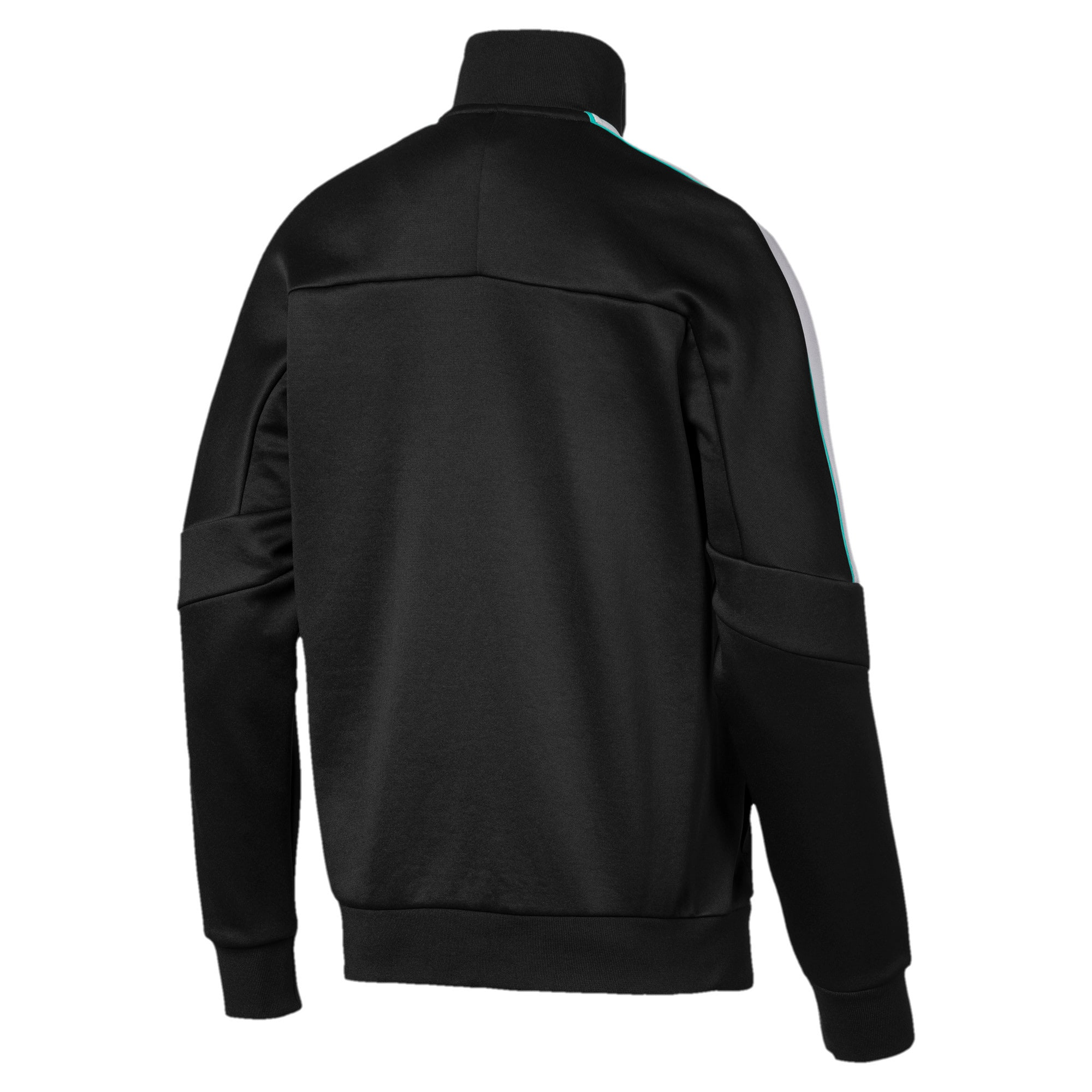 Thumbnail 2 of Mercedes AMG Petronas Men's T7 Track Jacket, Puma Black, medium