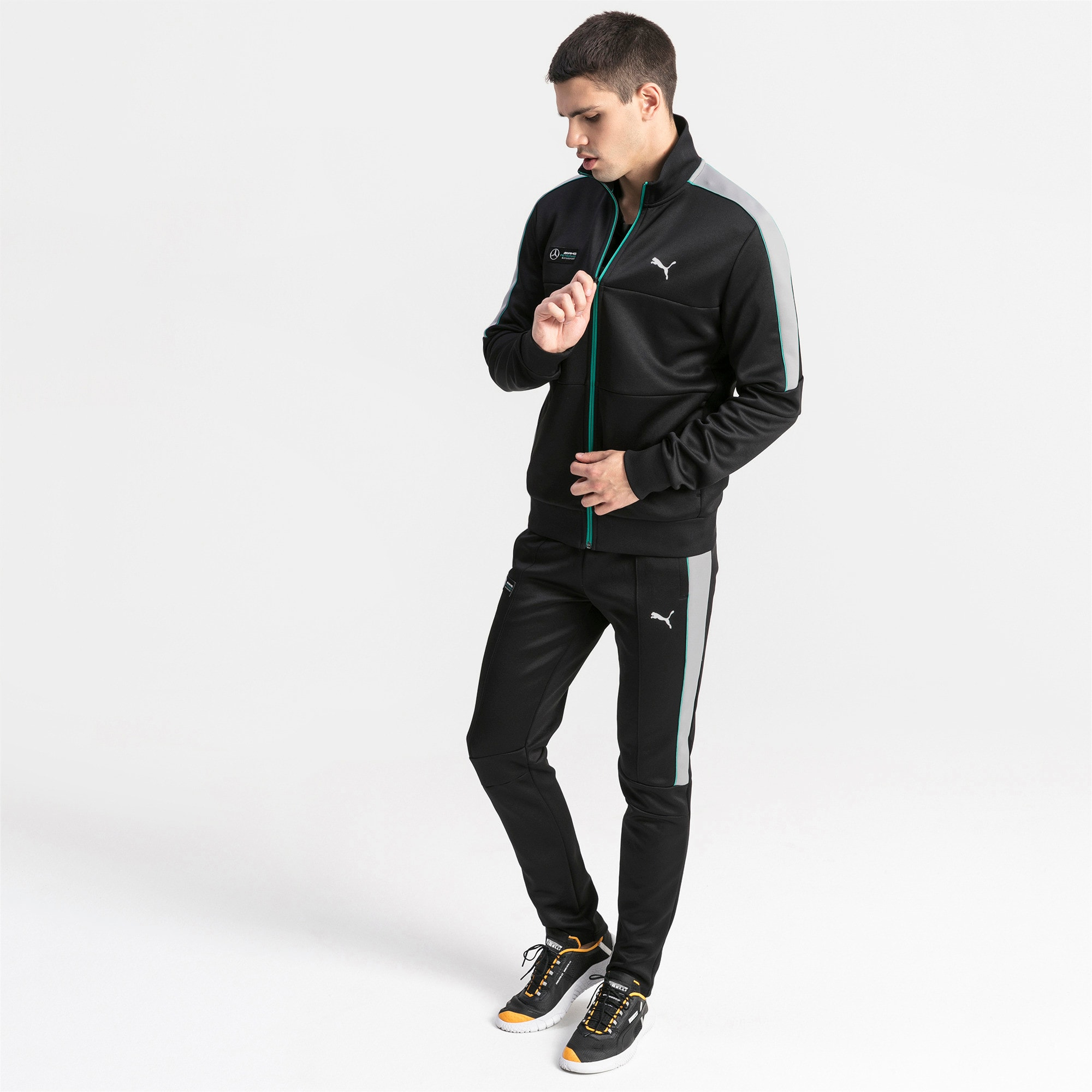 Thumbnail 3 of MAPM T7 Men's Track Jacket, Puma Black, medium