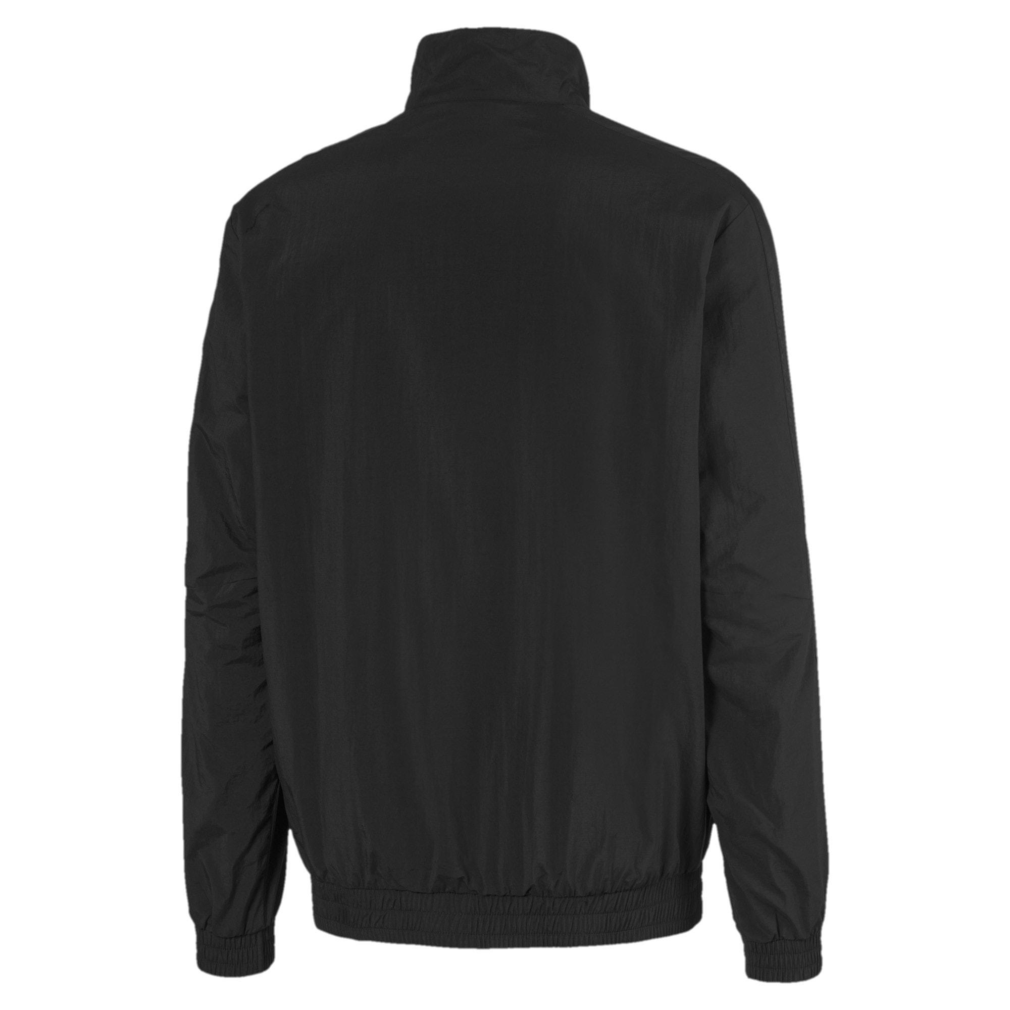 Thumbnail 2 of Mercedes Street Woven Men's Jacket, Puma Black, medium