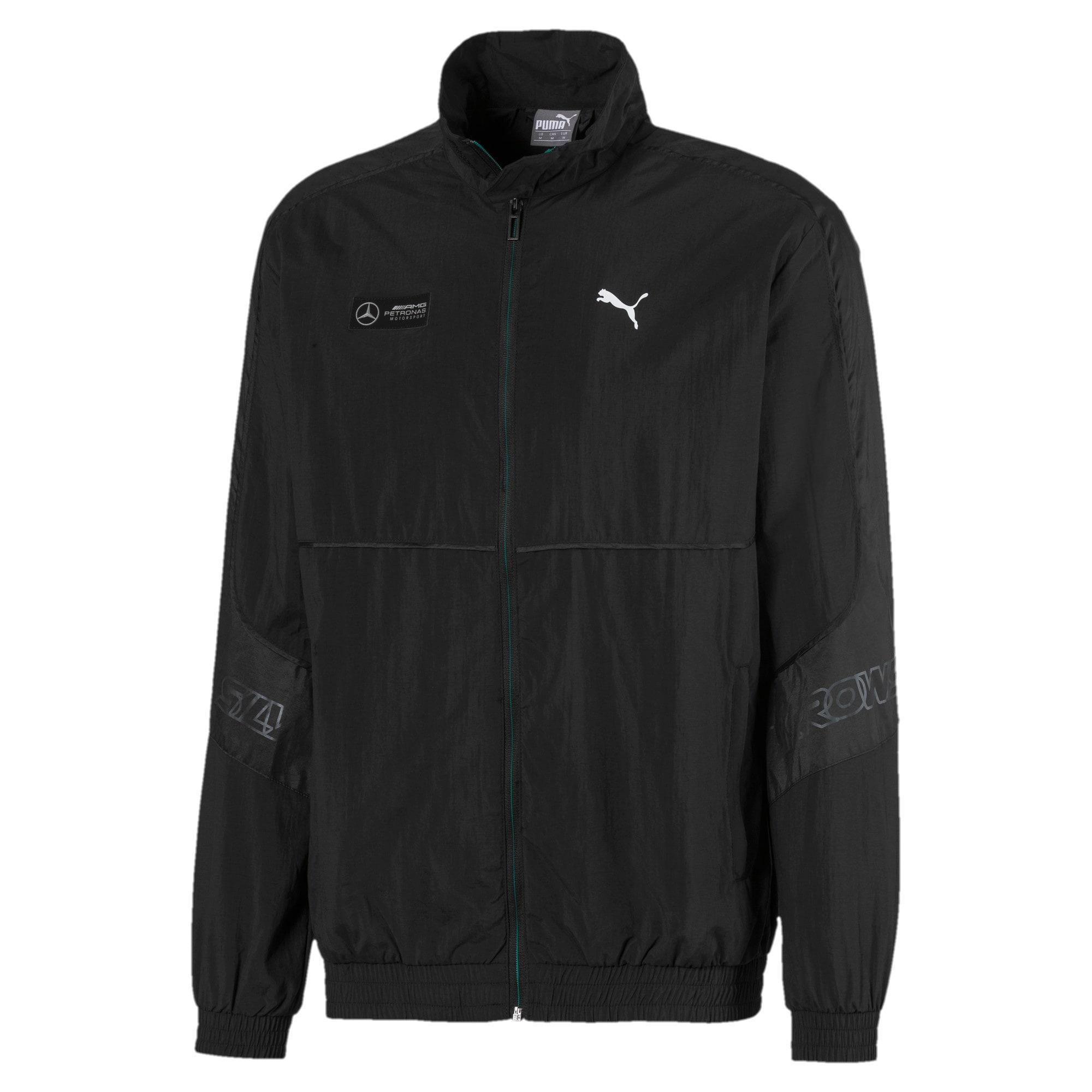 Thumbnail 1 of Mercedes Street Woven Men's Jacket, Puma Black, medium
