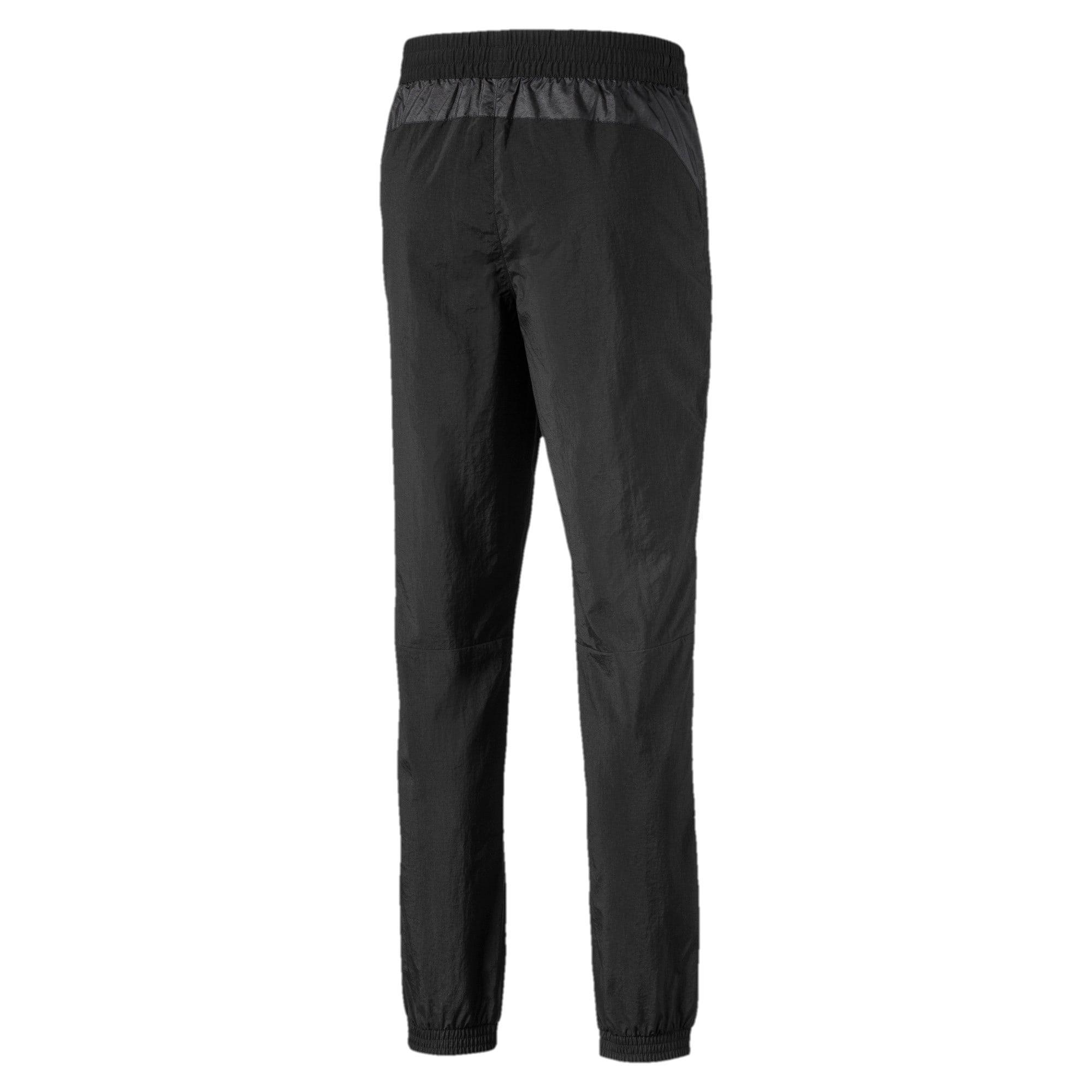 Thumbnail 2 of Geweven Mercedes Street broek voor heren, Puma Black, medium