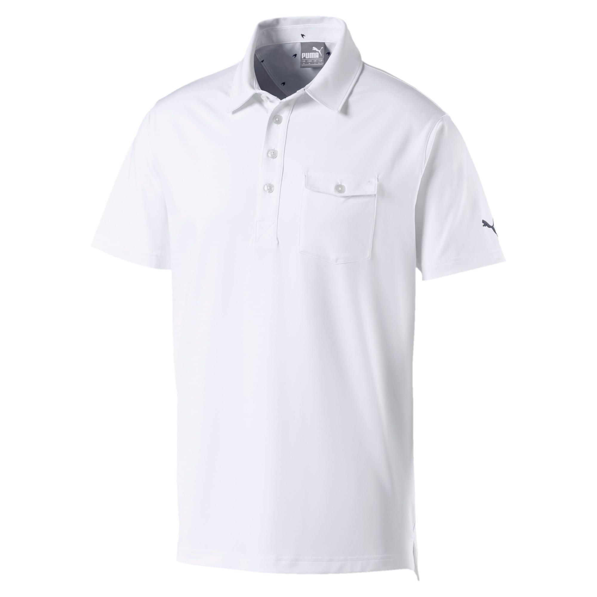 Thumbnail 5 of Donegal Men's Golf Polo, Bright White, medium