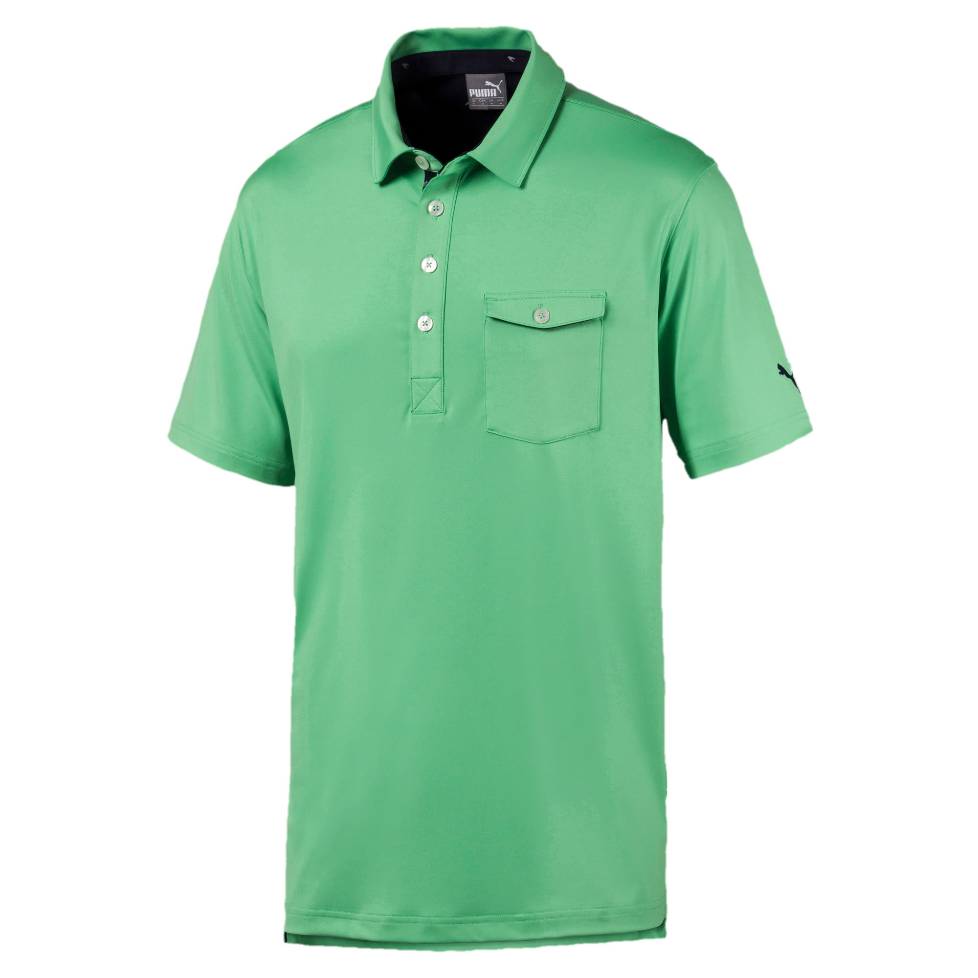 Thumbnail 4 of Donegal Men's Golf Polo, Irish Green, medium