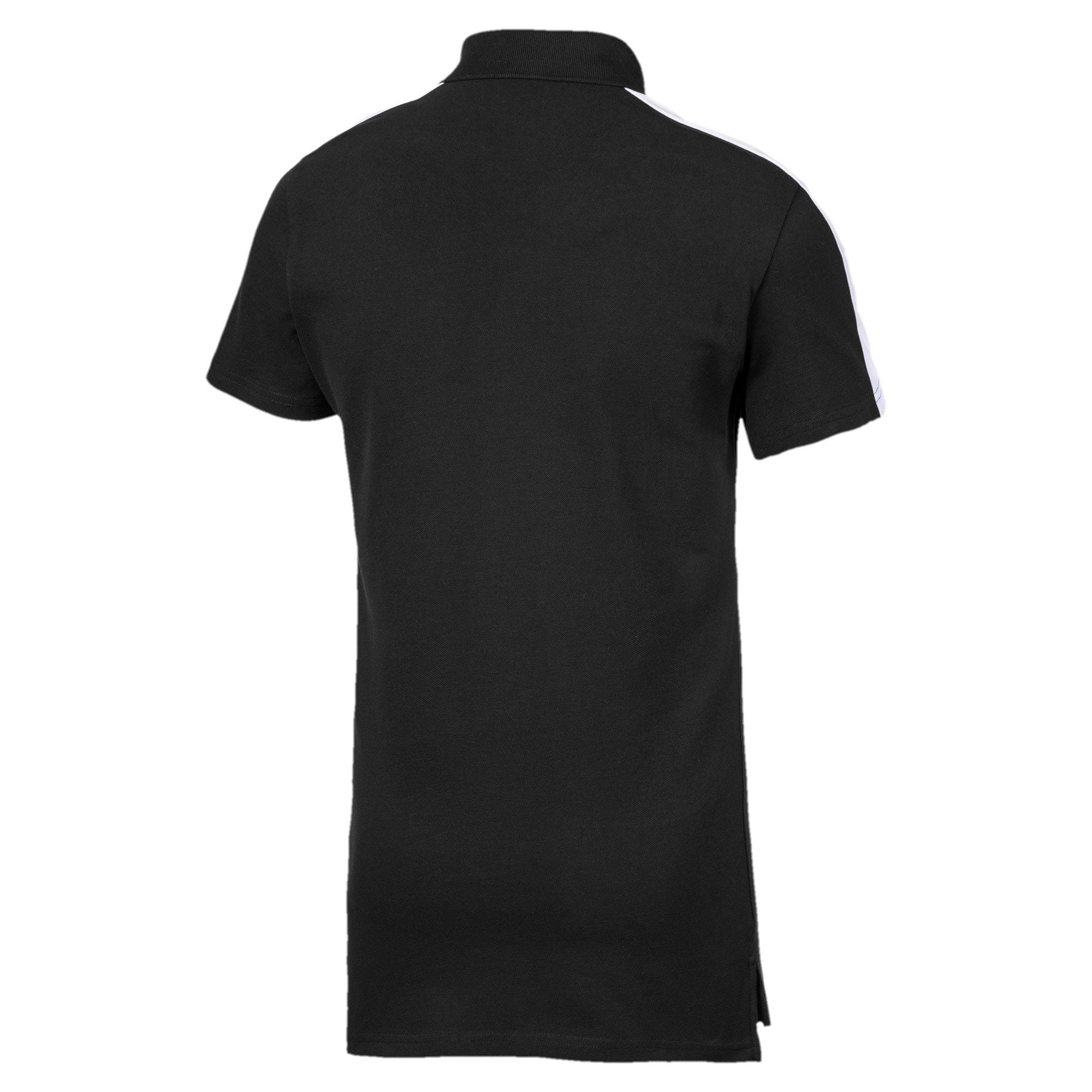 Miniatura 5 de Camiseta tipo polo T7 icónica para hombre, Puma Black, mediano