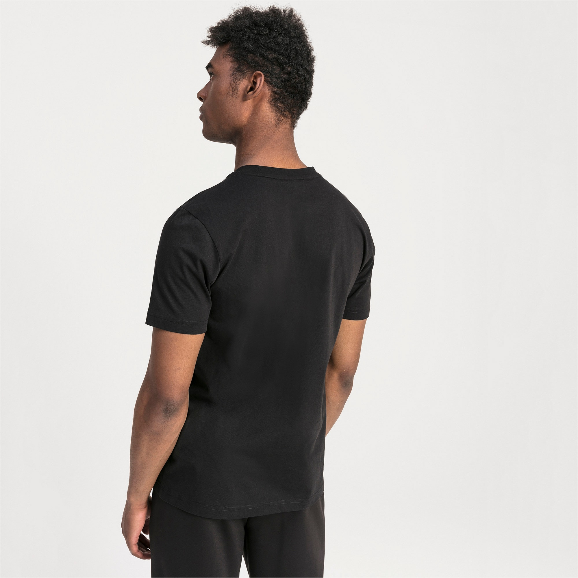 Thumbnail 2 of T-shirt con logo BMW M Motorsport uomo, Puma Black, medium