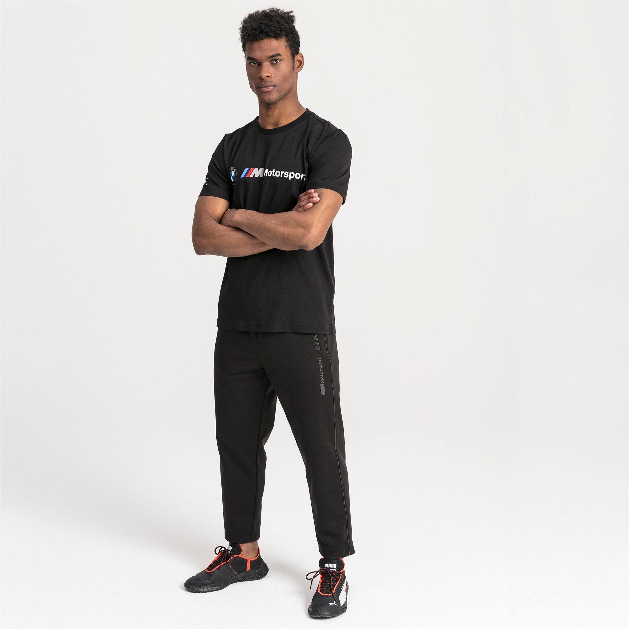 Thumbnail 3 of T-shirt con logo BMW M Motorsport uomo, Puma Black, medium