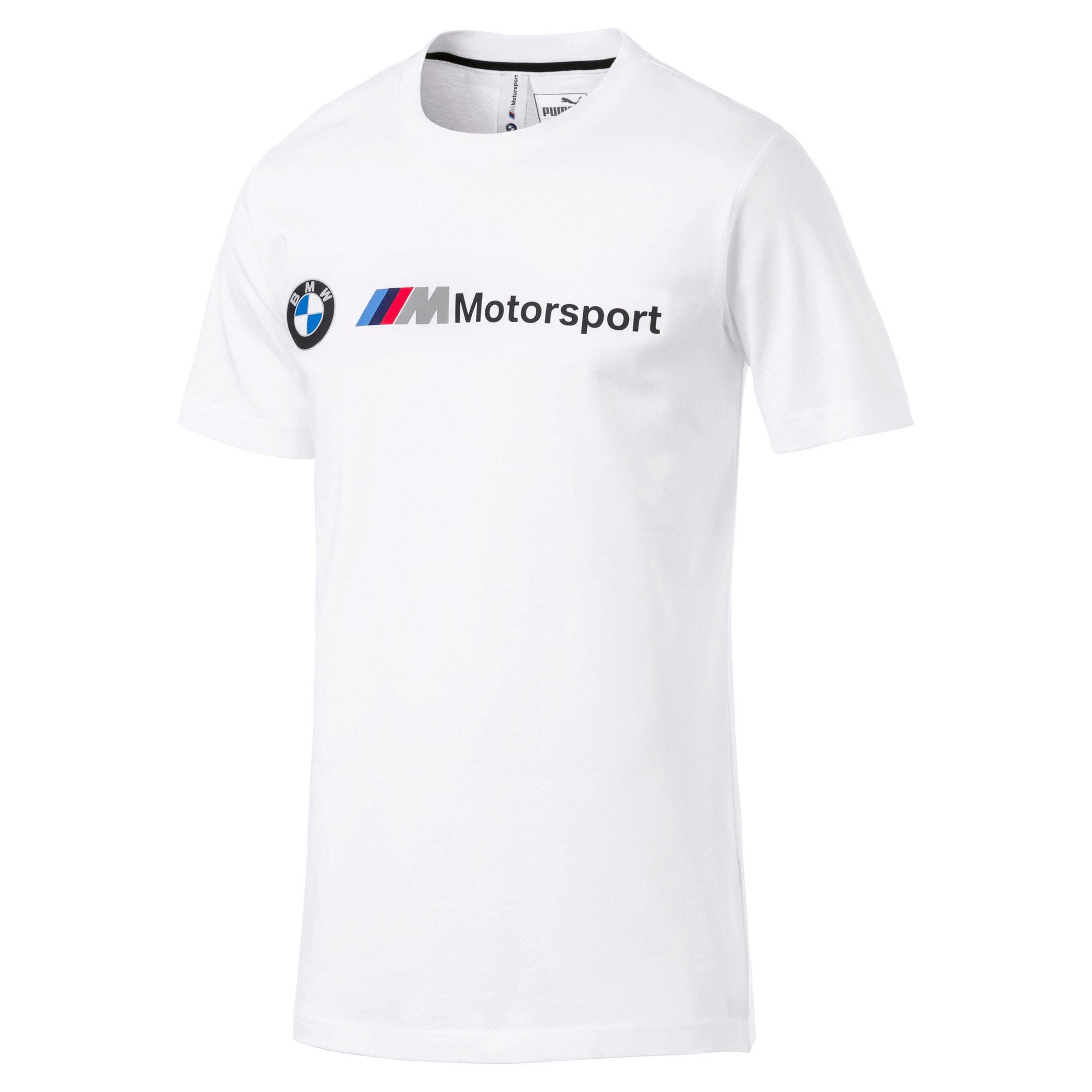 Thumbnail 4 of T-shirt con logo BMW M Motorsport uomo, Puma White, medium