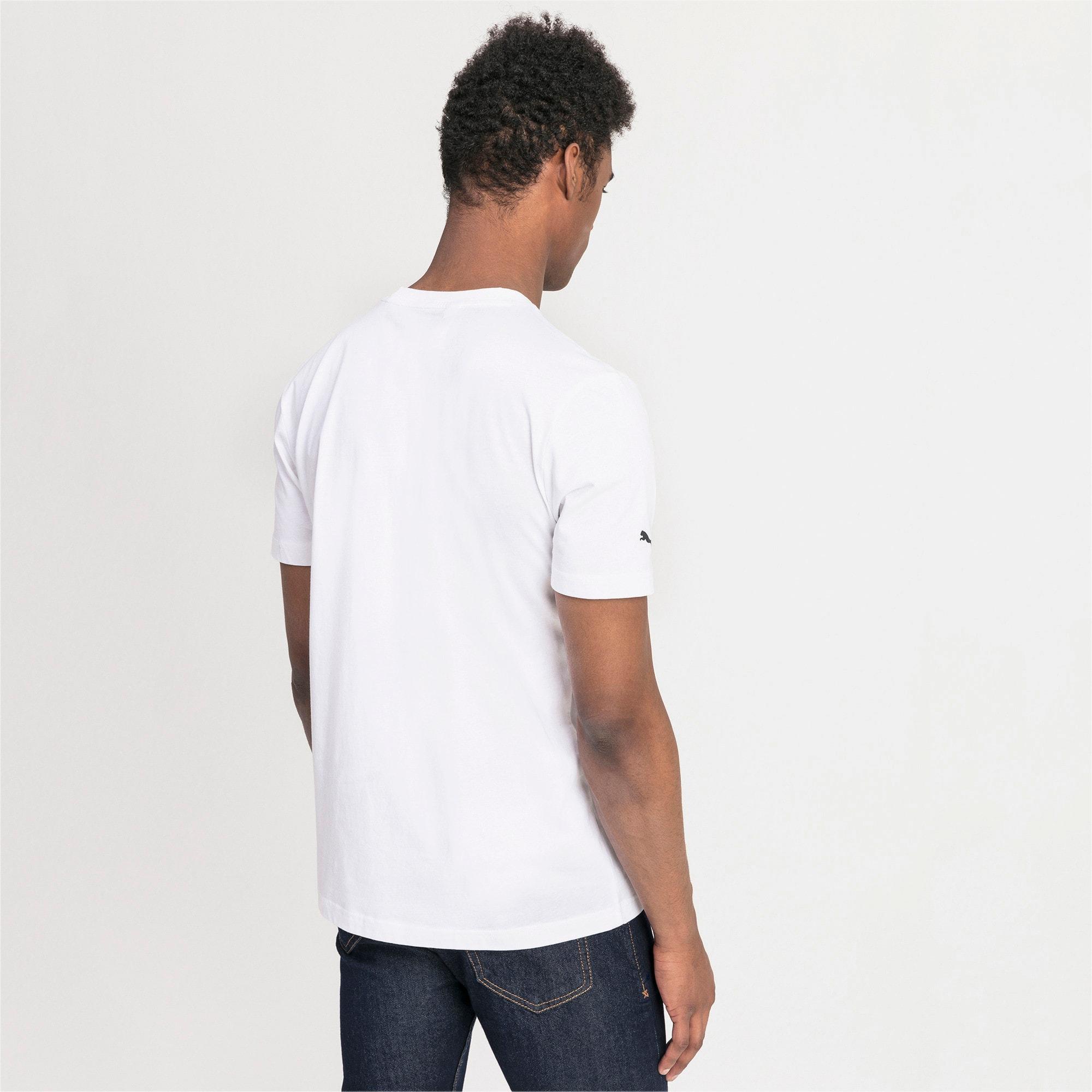 Thumbnail 2 of T-shirt con logo BMW M Motorsport uomo, Puma White, medium