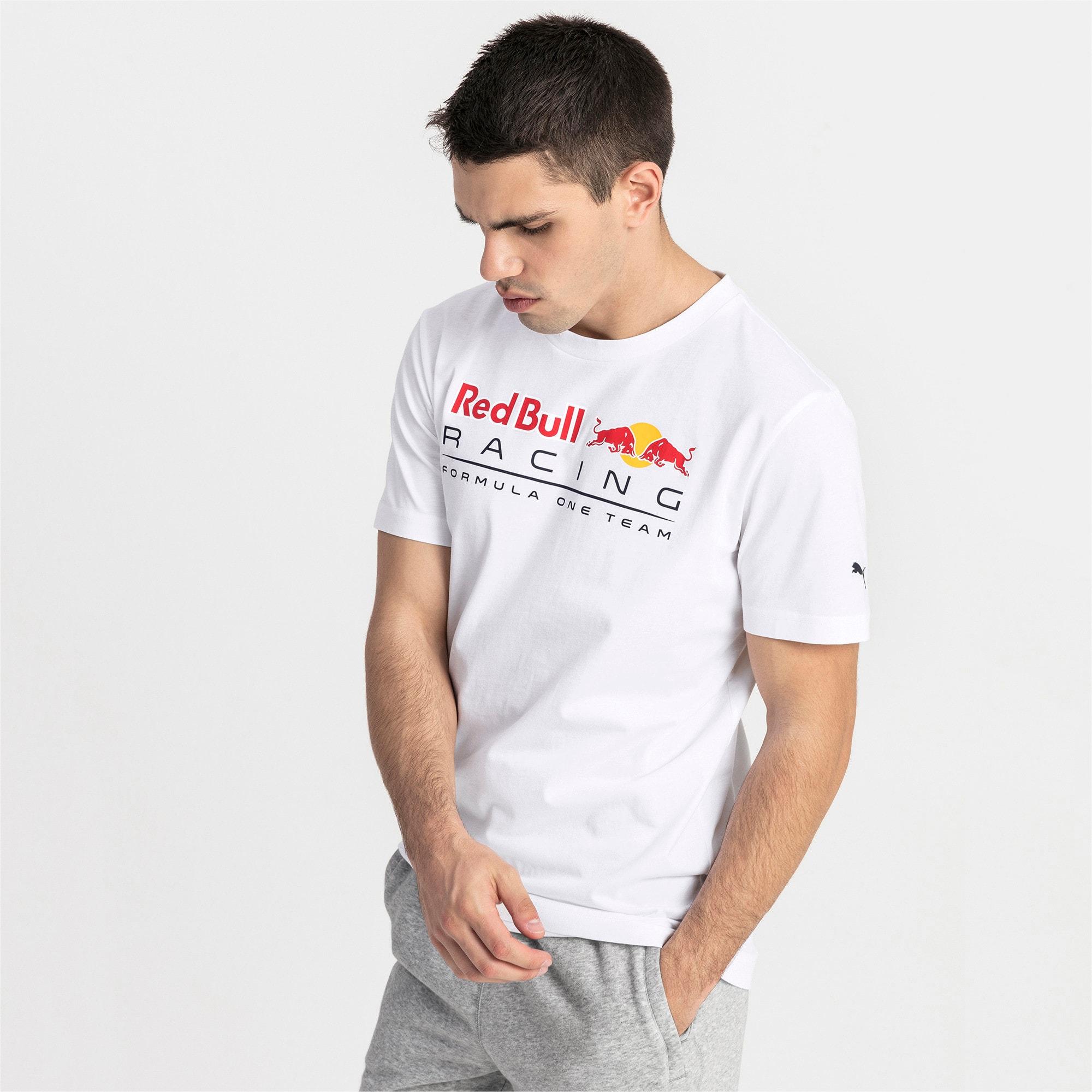 Thumbnail 1 of Red Bull Racing logo-T-shirt voor heren, Puma White, medium