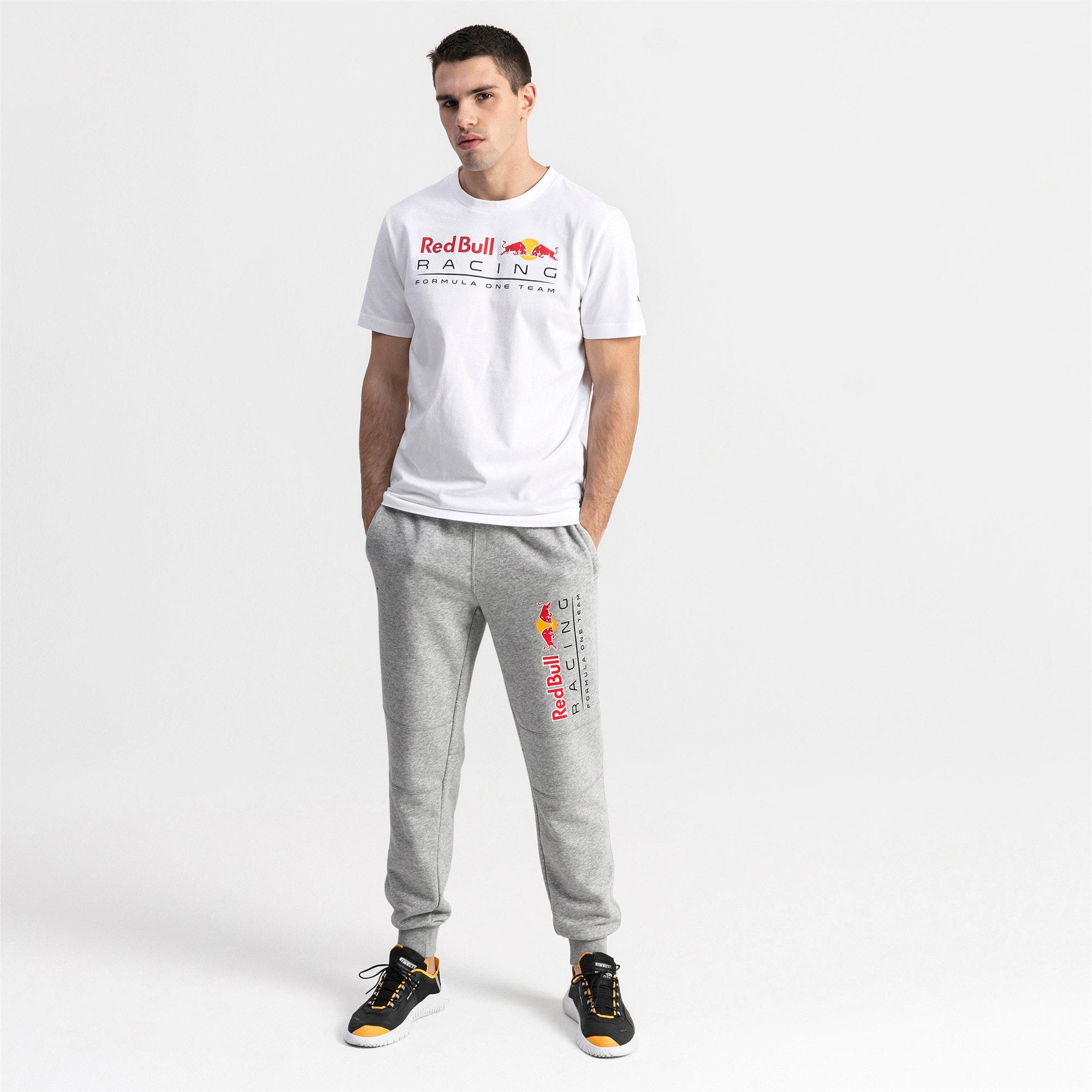 Thumbnail 3 of Red Bull Racing logo-T-shirt voor heren, Puma White, medium