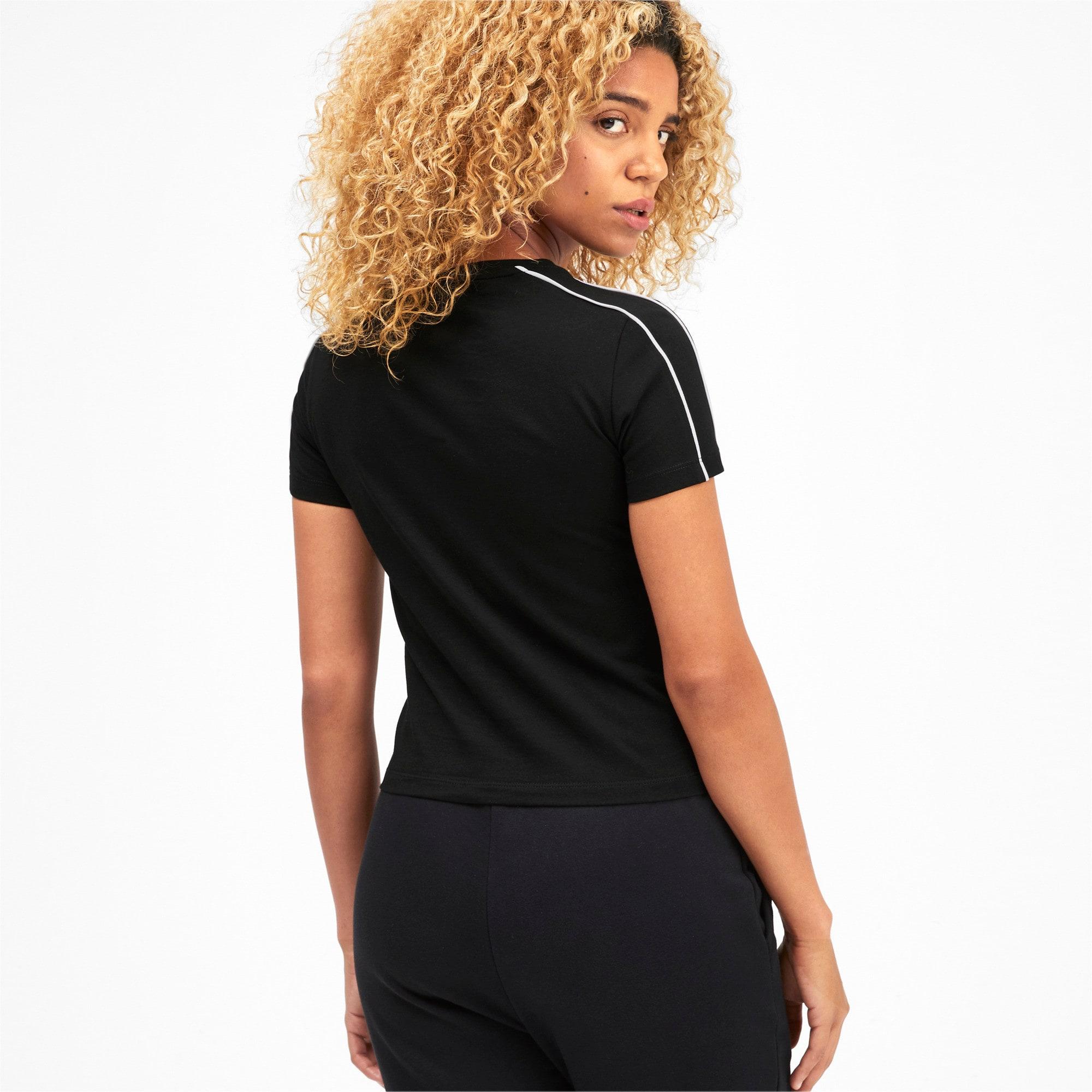Thumbnail 2 of Classics Tight Women's Top, Puma Black, medium-SEA