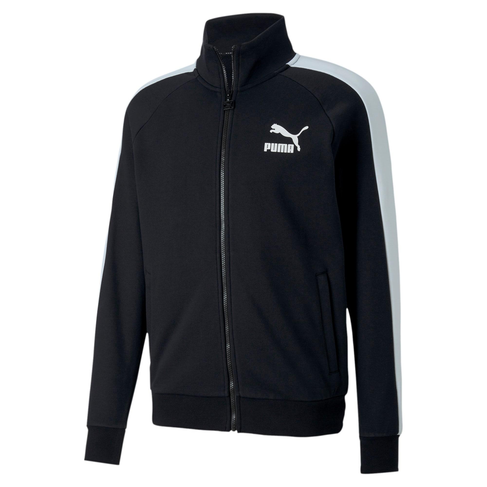 Miniatura 4 de Chaqueta deportiva Iconic T7 para hombre, Puma Black, mediano