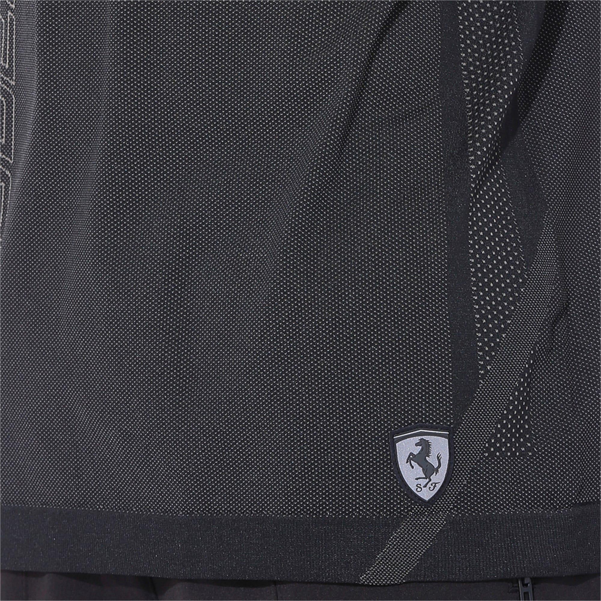 Thumbnail 6 of Ferrari RCT evoKNIT Men's Tee, Puma Black, medium-IND