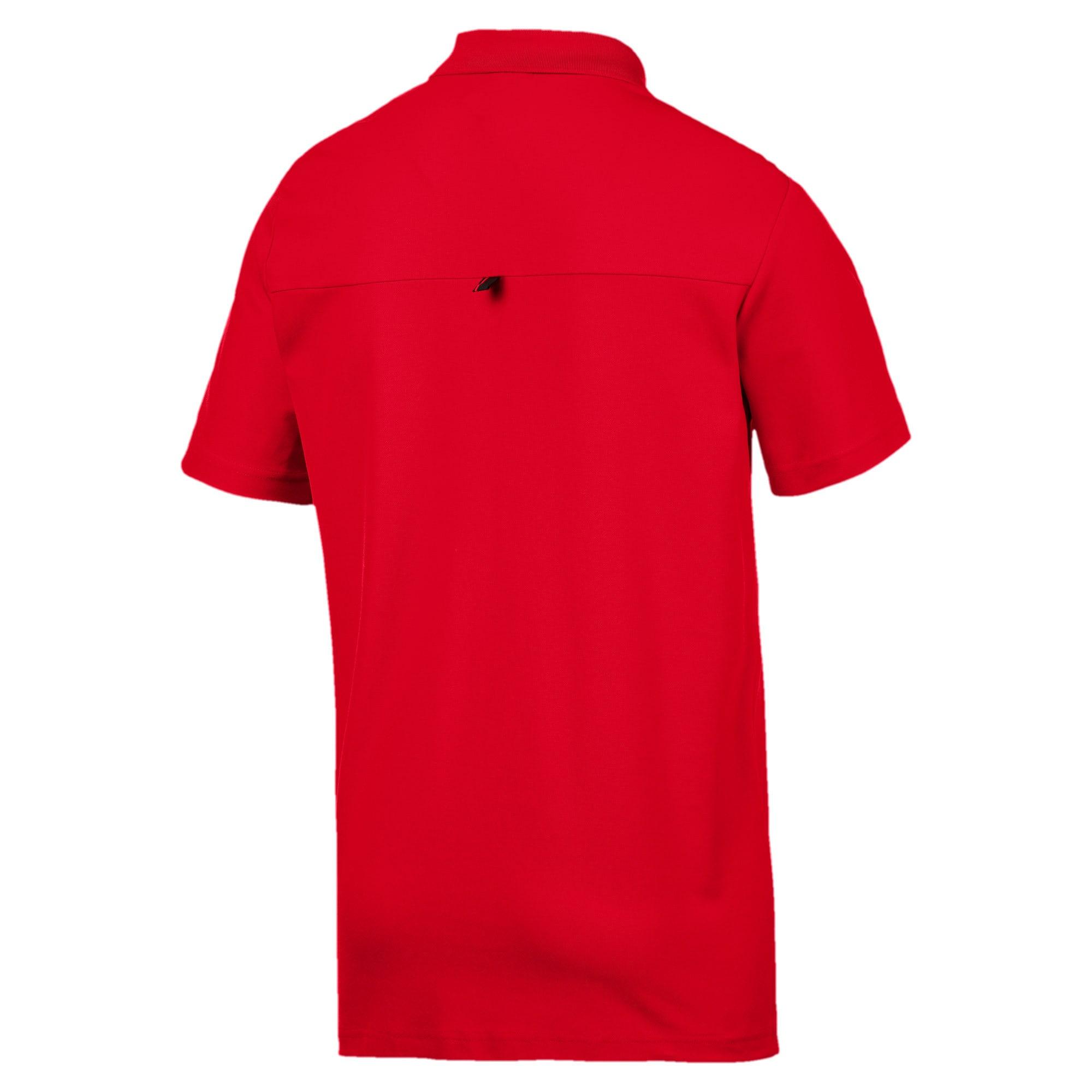 Thumbnail 6 of Ferrari Men's Polo Shirt, Rosso Corsa, medium