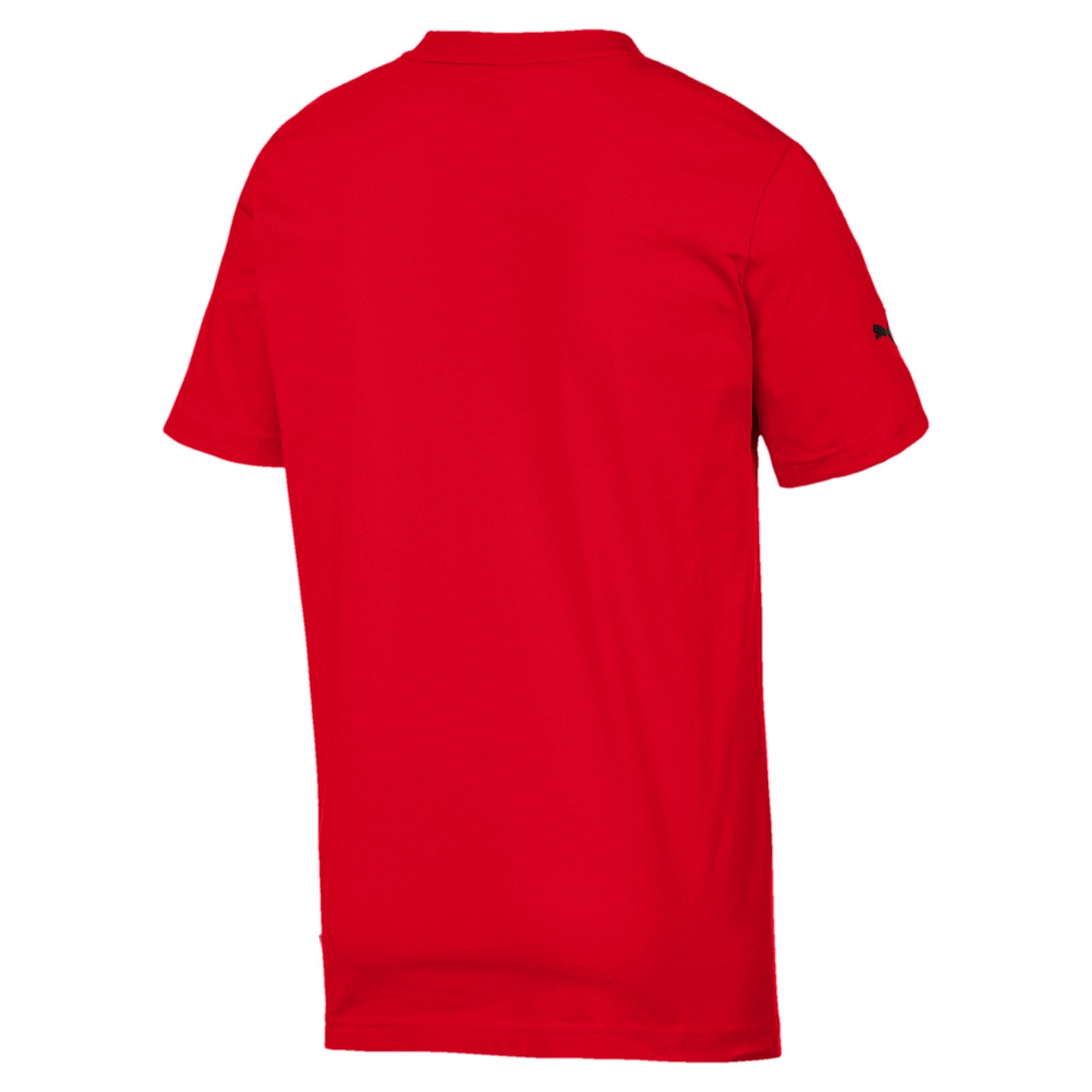 Thumbnail 5 of T-shirt Ferrari Big Shield uomo, Rosso Corsa, medium