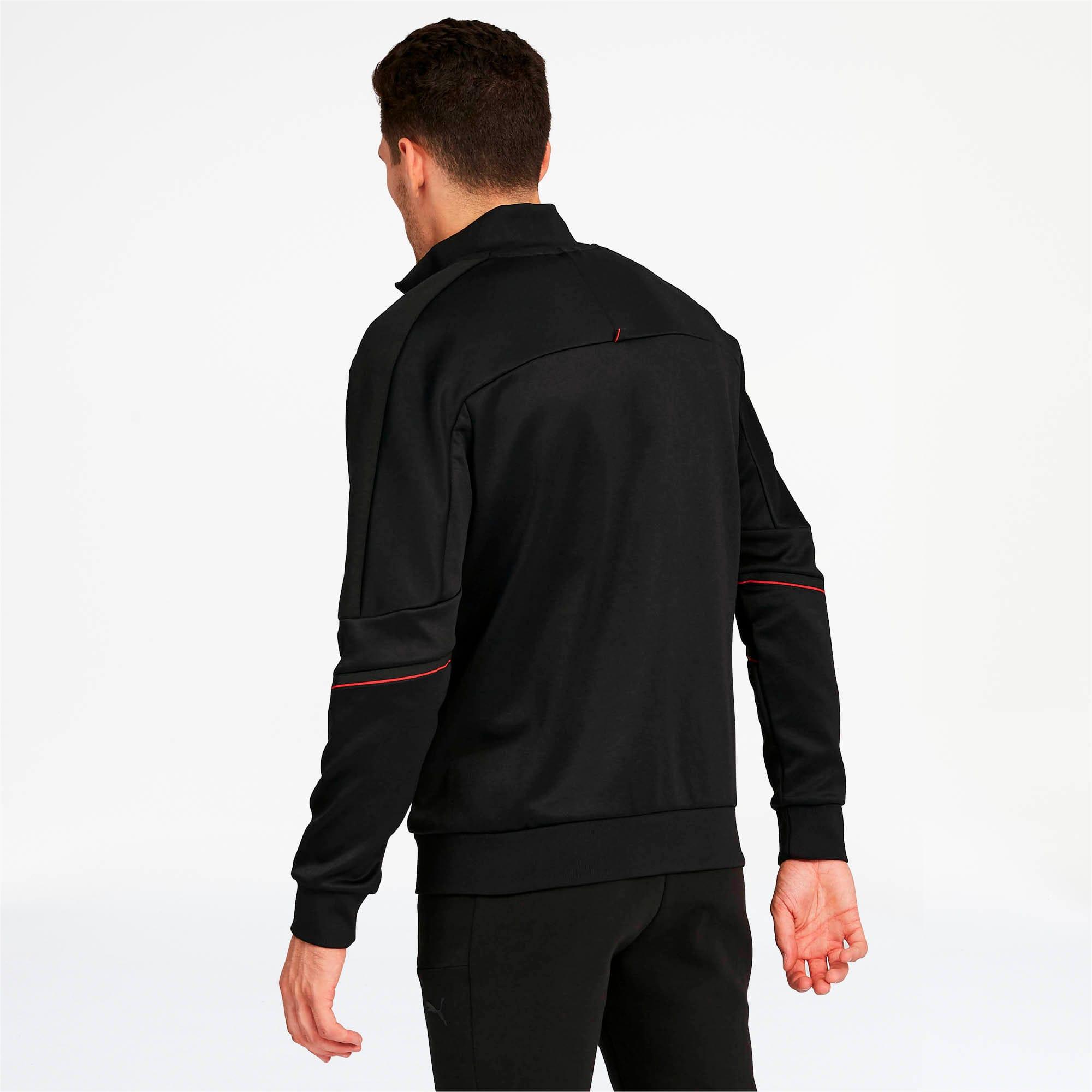 Thumbnail 2 of Ferrari Men's T7 Track Jacket, Puma Black, medium